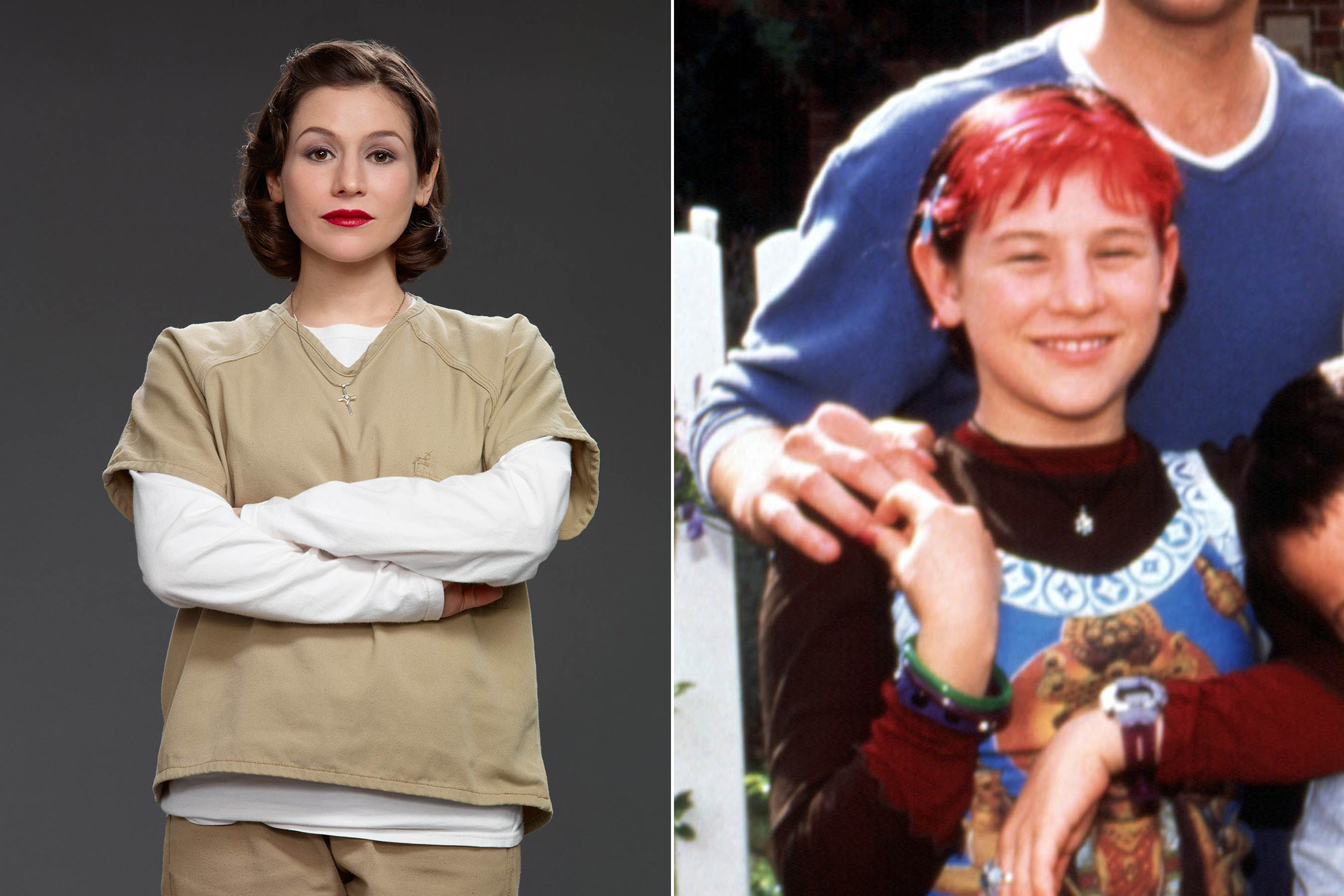 Before Yael Stone played Lorna Morello on Orange Is the New Black she played Stacy Dickson on Me Myself I .