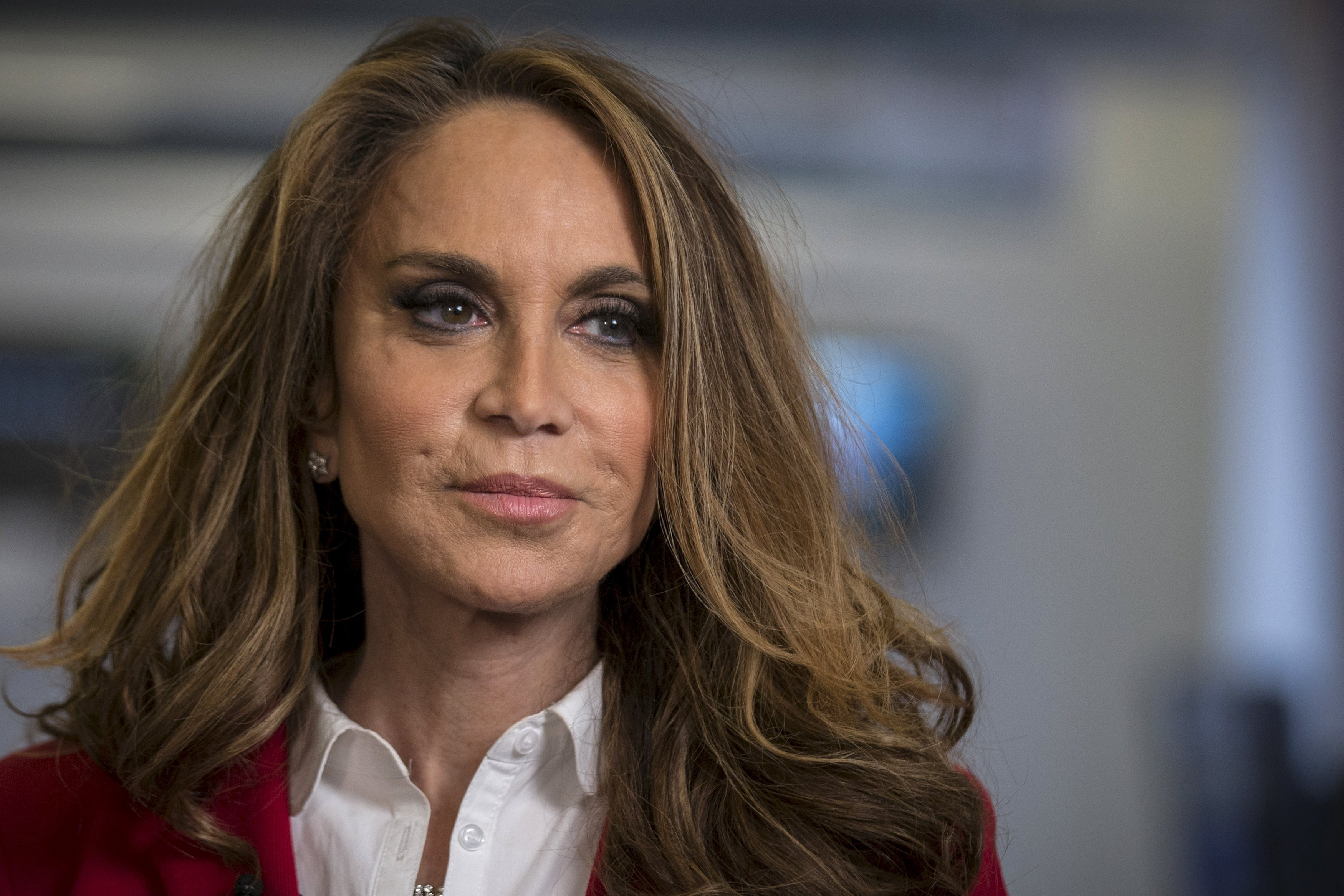 Political blogger Pamela Geller, American Freedom Defense Initiative's founder, speaks during an interview in New York May 28, 2015.  REUTERS/Brendan McDermid