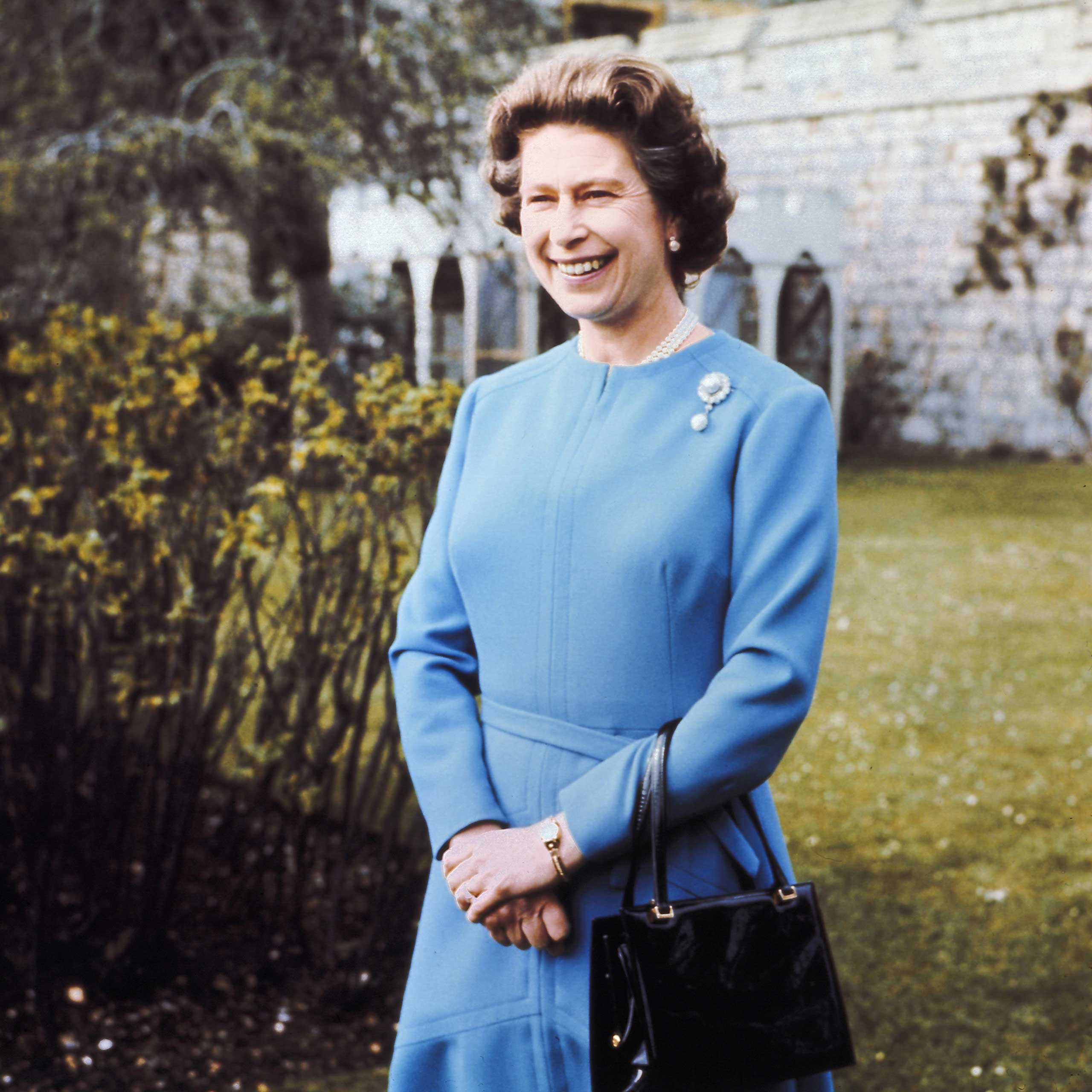 The Queen Elizabeth II on her 50th birthday in April 1976.