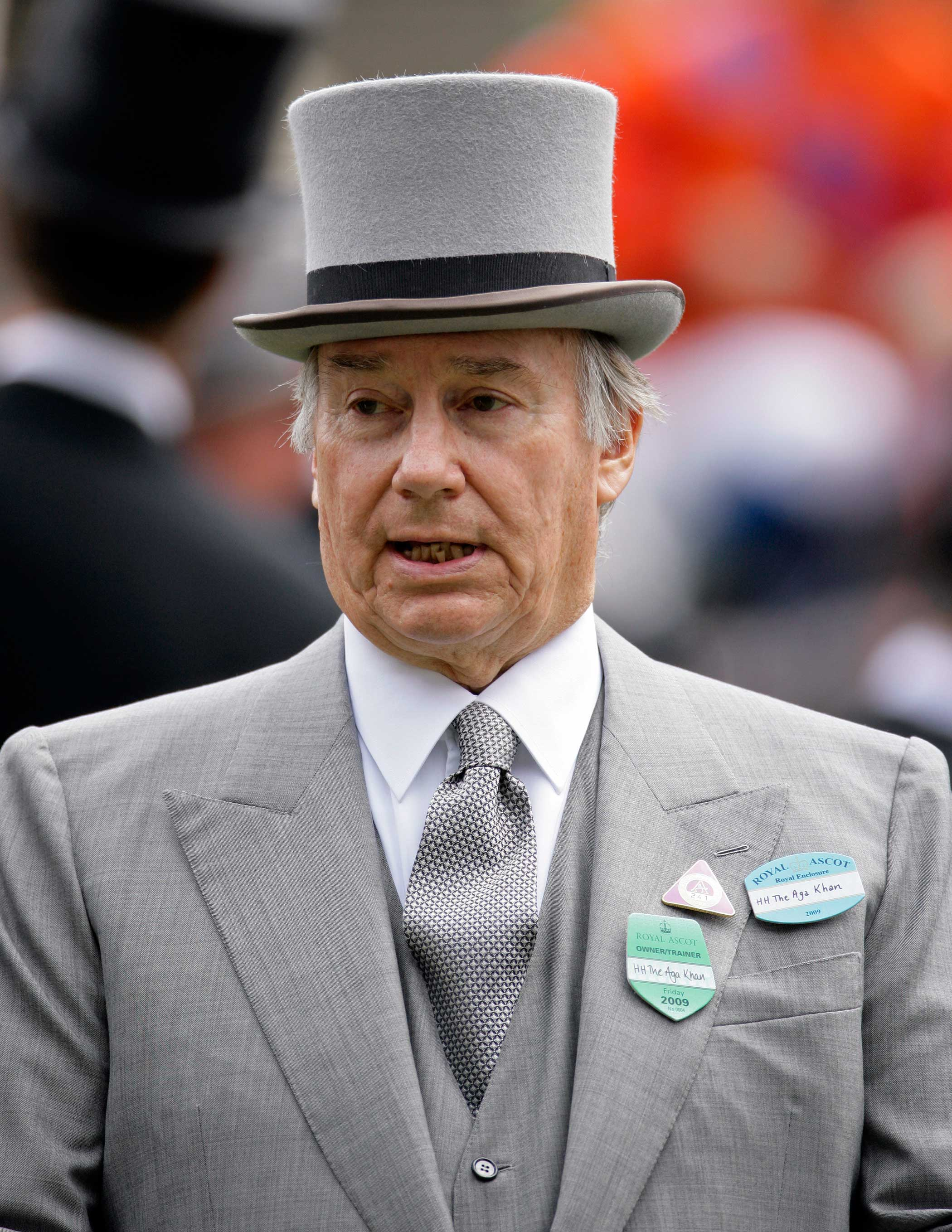 Shah Karim al-Hussayni, HH The Aga Khan attends Royal Ascot races at Ascot Racecourse on June 19, 2009 in Ascot, England.