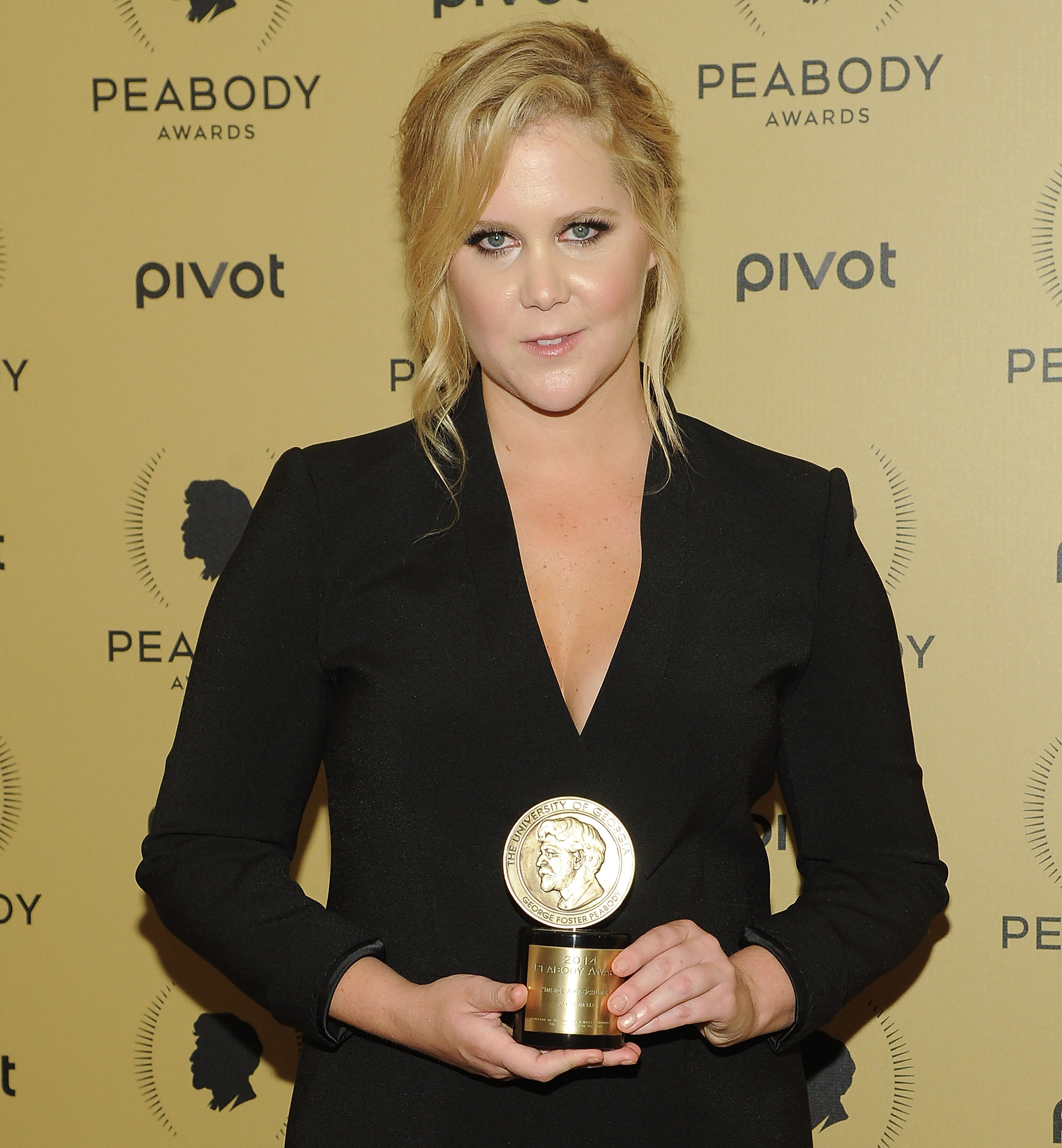 Amy Schumer attends The 74th Annual Peabody Awards Ceremony at Cipriani Wall Street on May 31, 2015 in New York City.