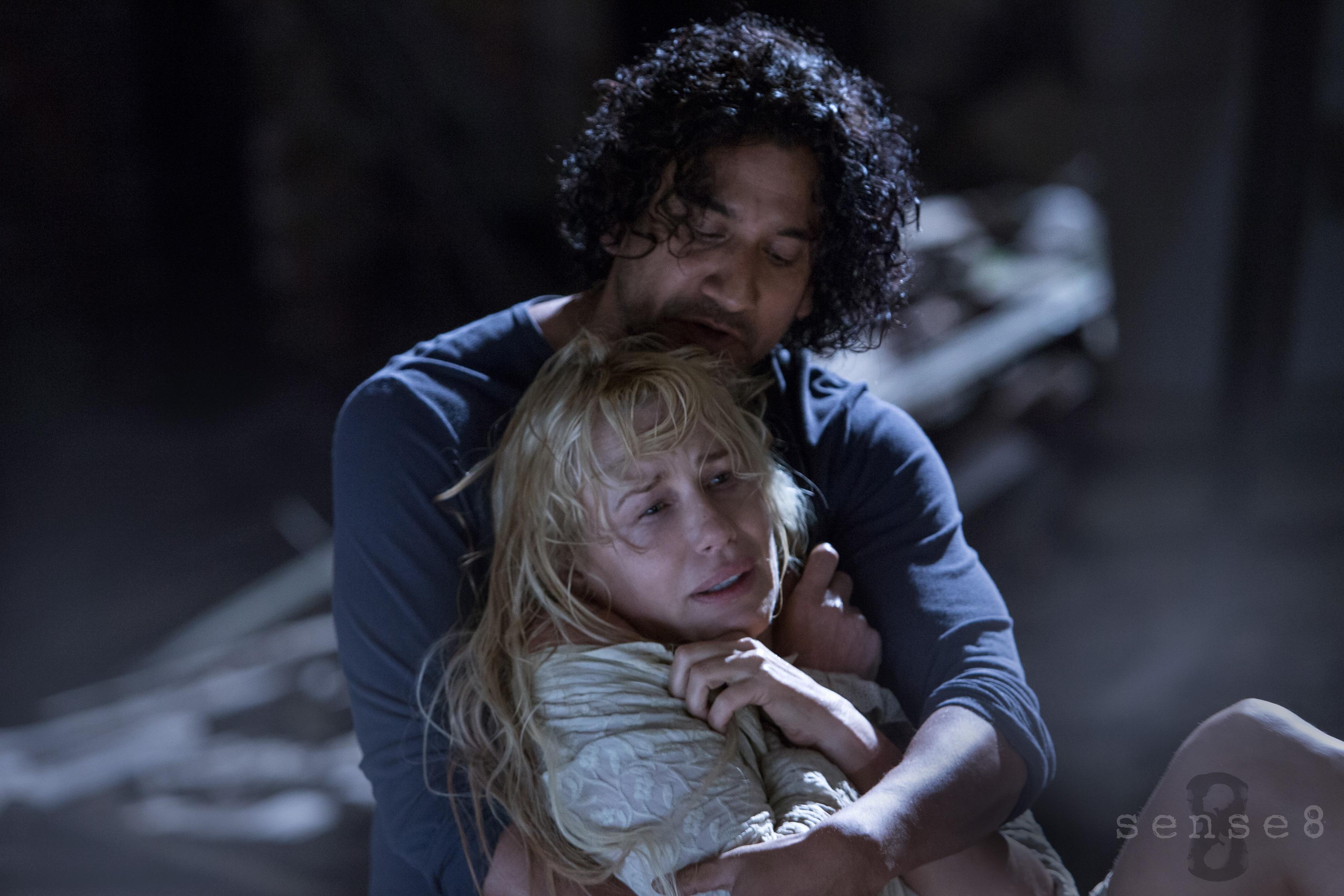 Andrews and Hannah in Sense8.