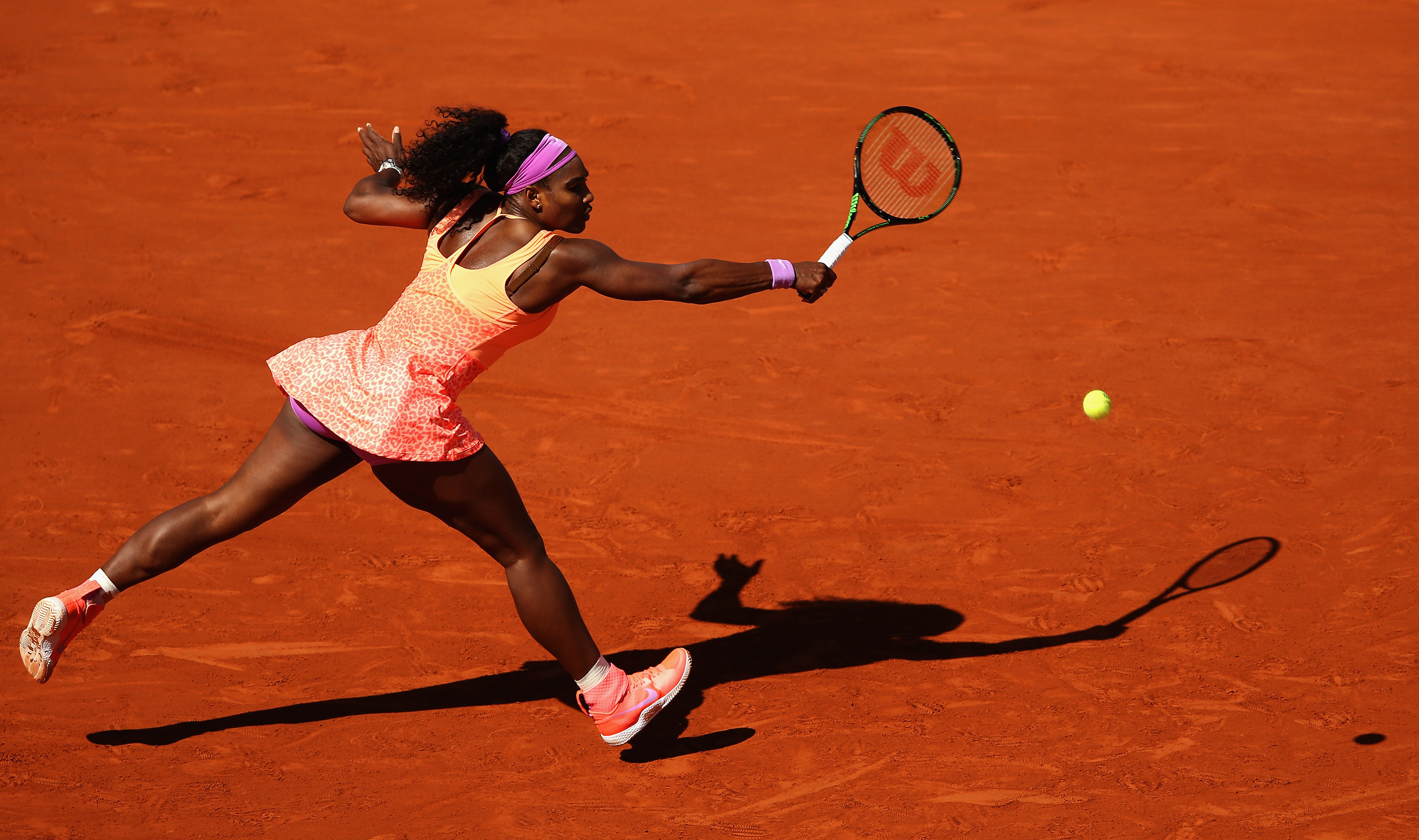 Williams' French Open victory was her 20th major win, four behind the women's all-time career record.