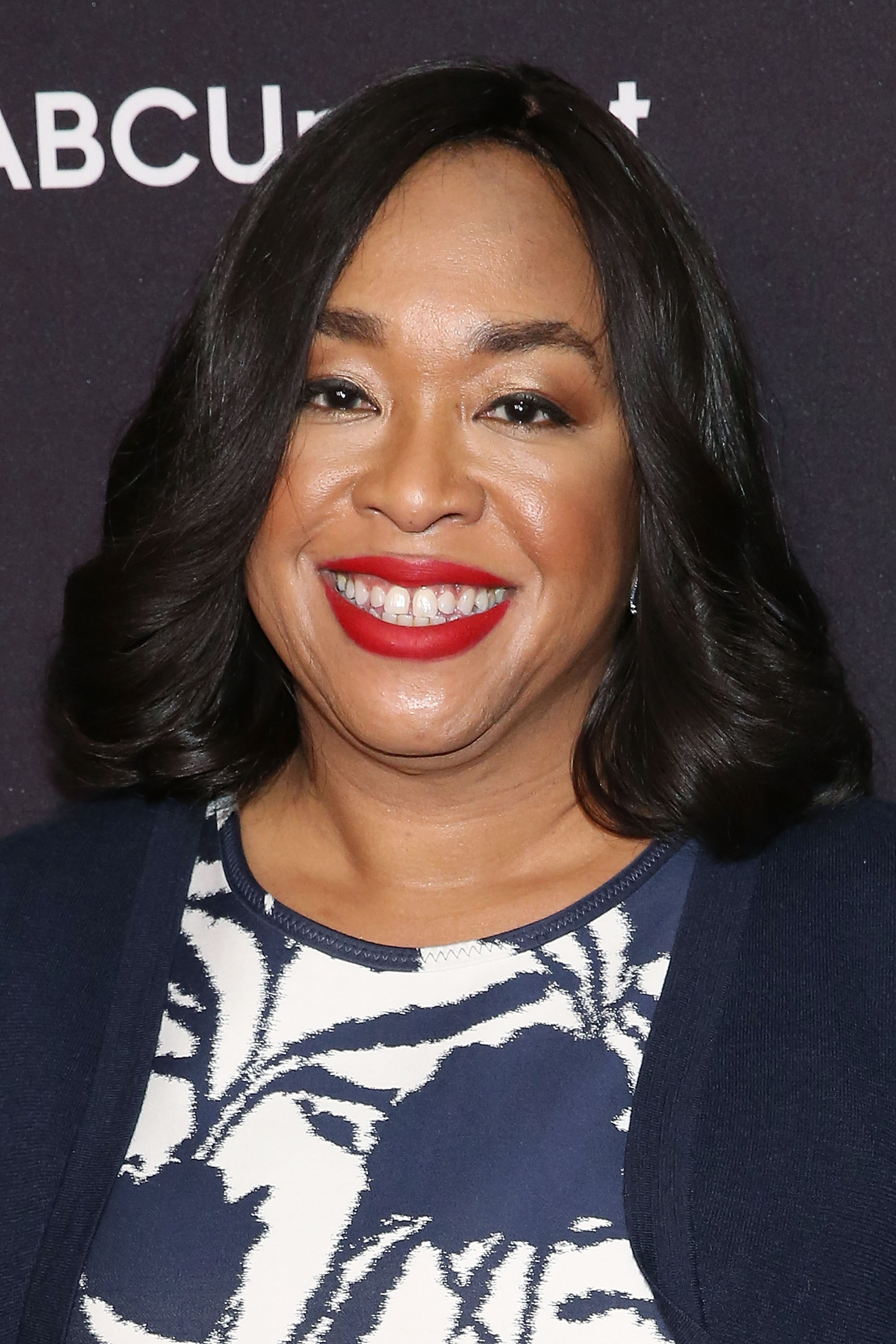 Shonda Rhimes attends the 2015 ABC NY Upfront Presentation on May 12, 2015 in New York City.