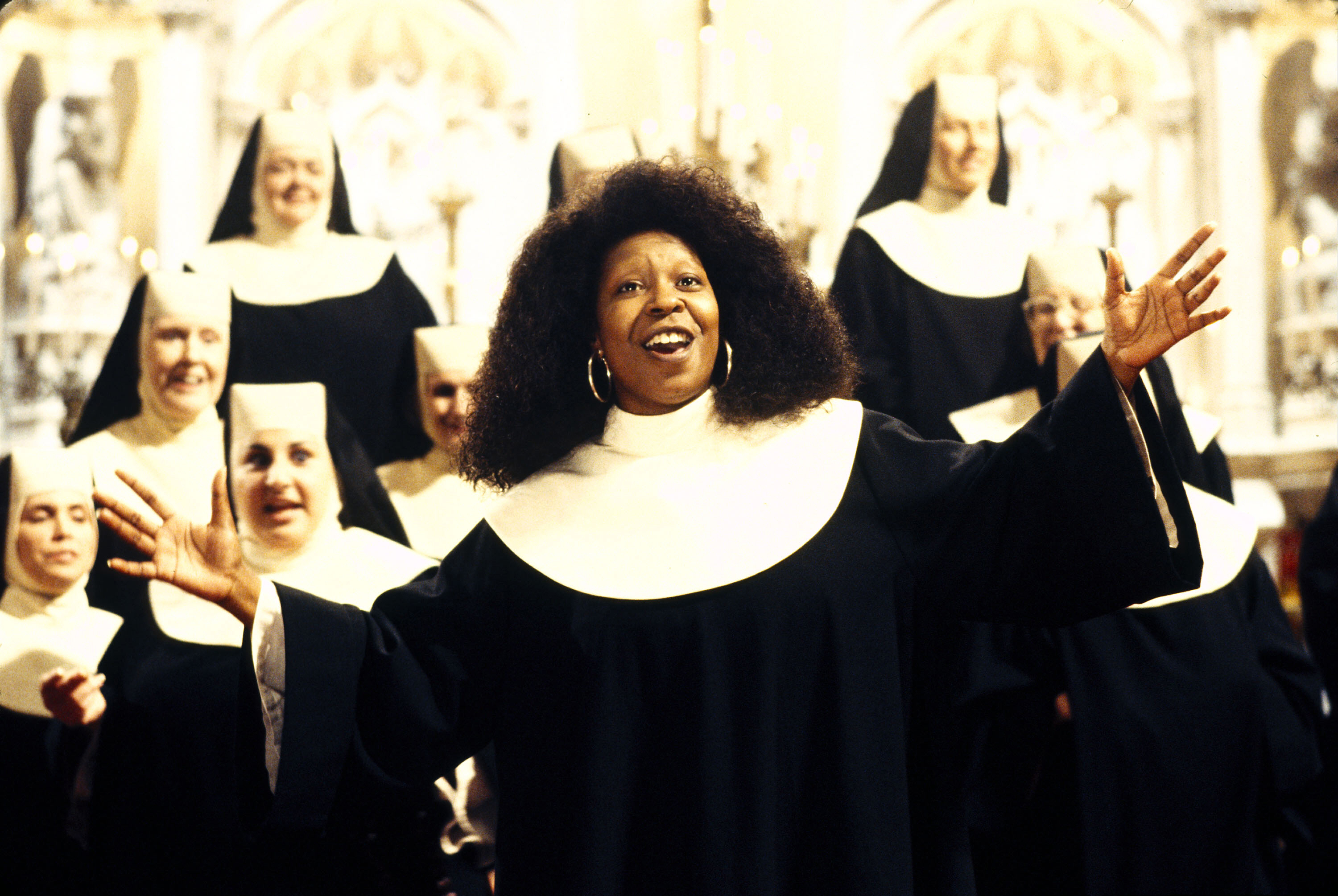 Sister Act (1992) Directed by Emile Ardolino                   Shown: Whoopie Goldberg