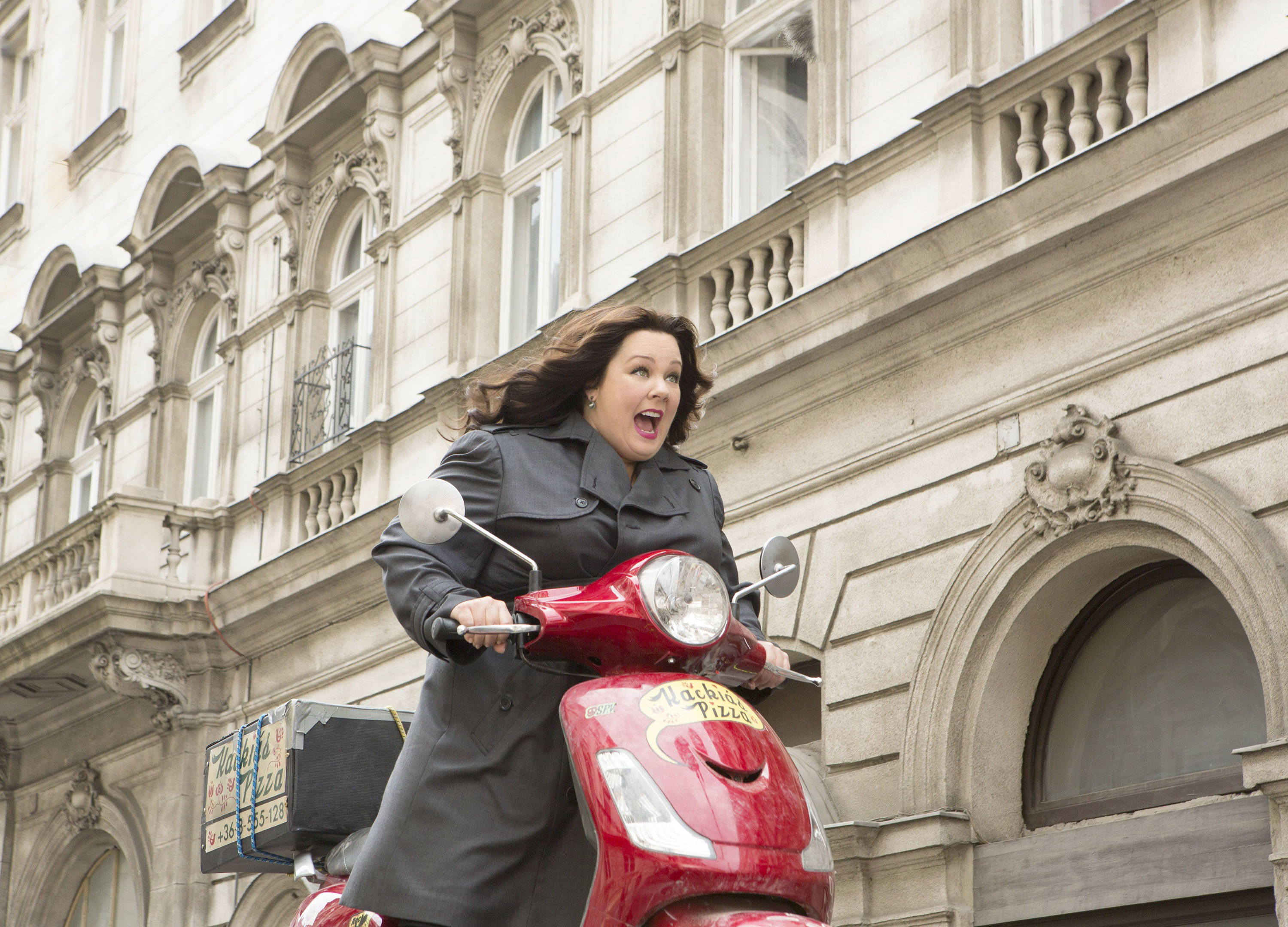 Melissa McCarthy as Susan Cooper in a scene from Spy