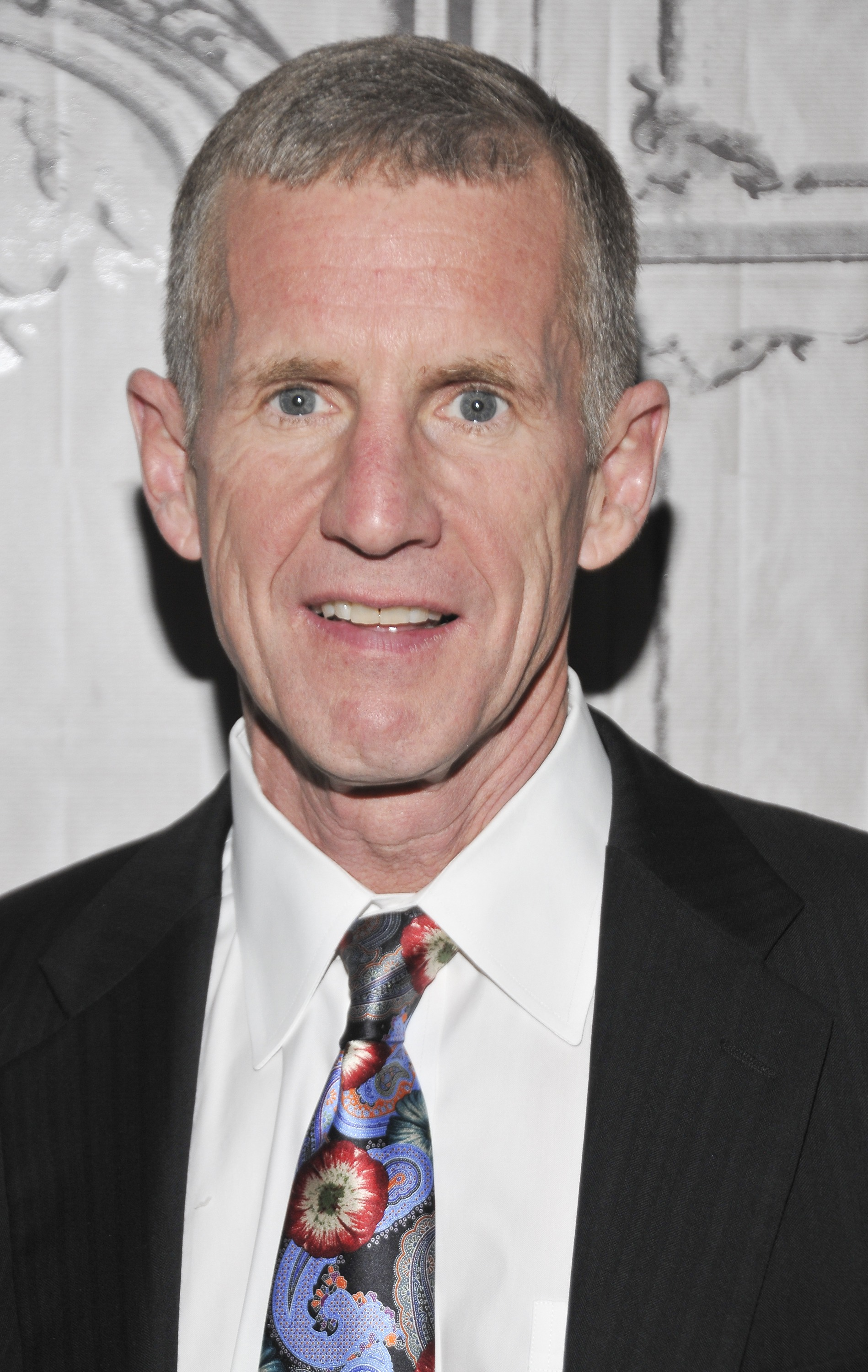 General Stanley McChrystal attends AOL Build Speaker Series at AOL Studios in New York on May 14, 2015.