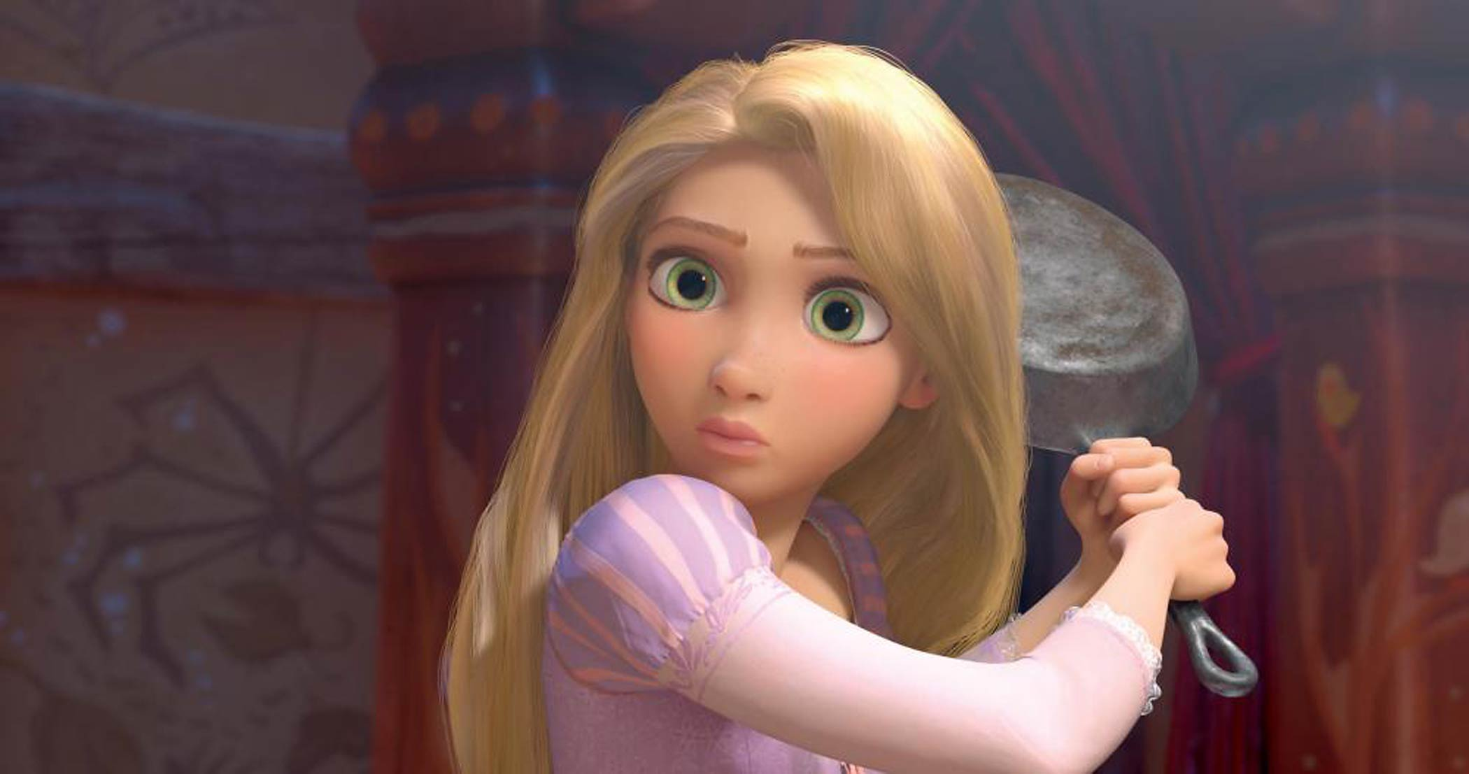 Mandy Moore stars as Rapunzel in the 2010 movie Tangled.