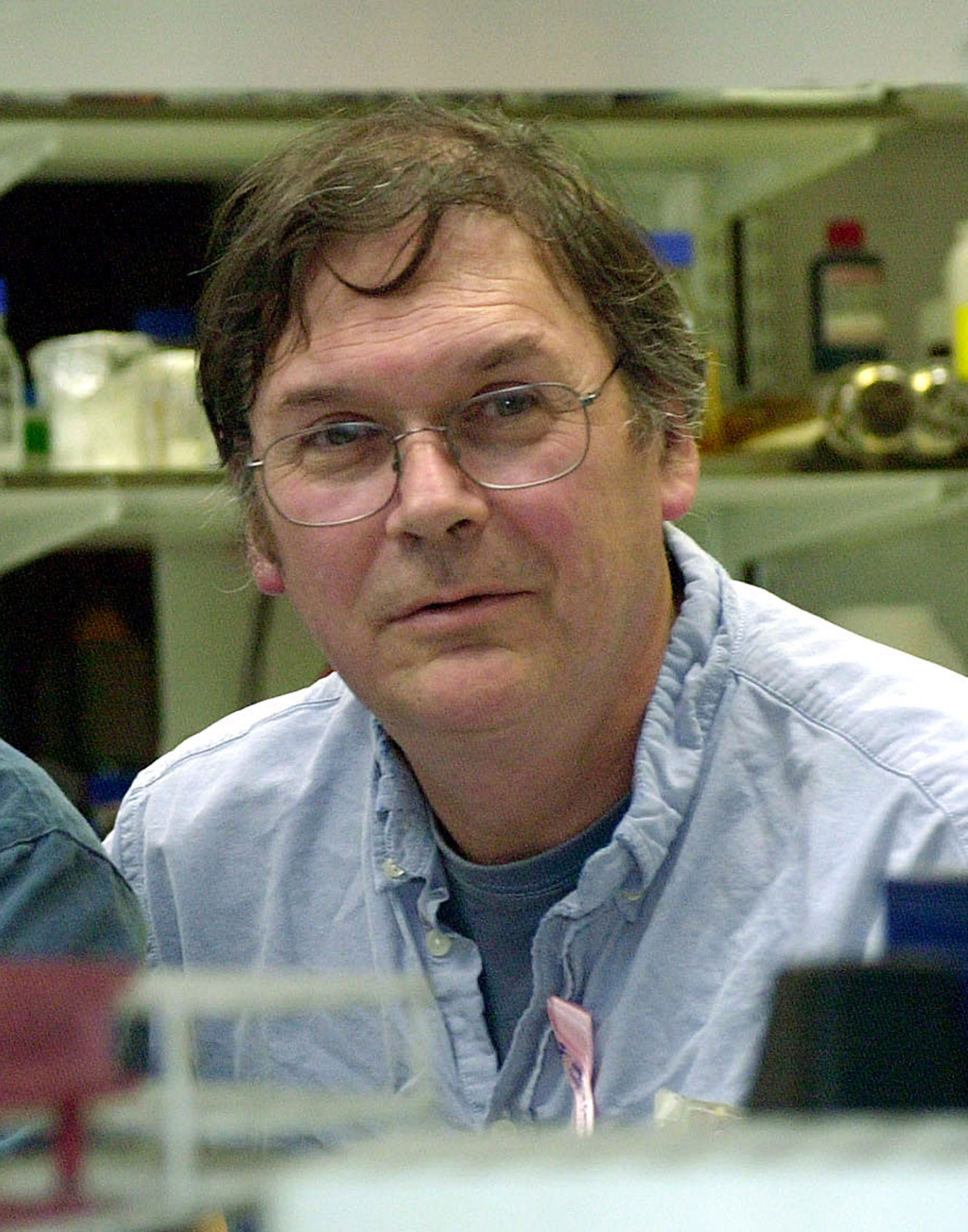File photo dated August 10, 2001 of Sir Tim Hunt, as The Royal Society moved to distance itself from comments he reportedly made about women in science.