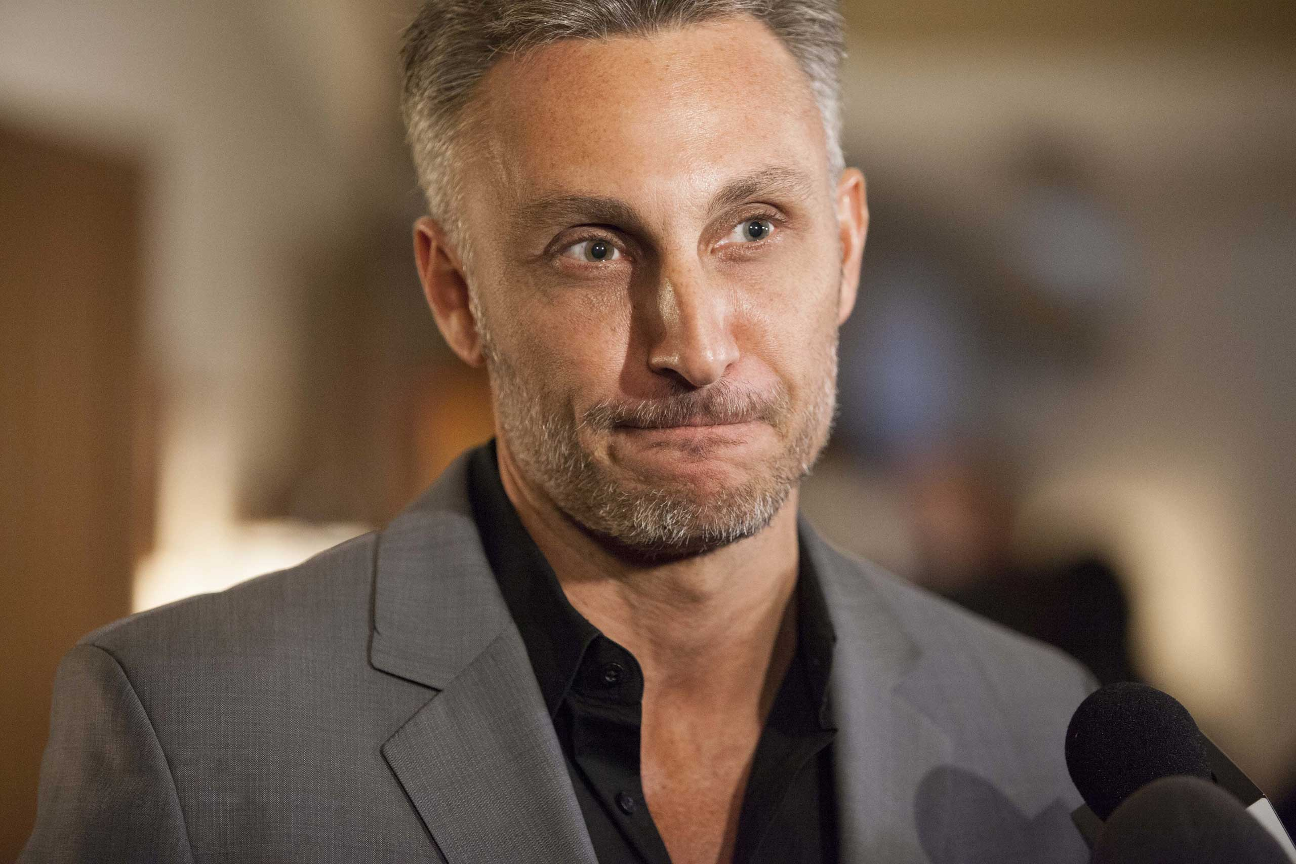 William Graham Tullian Tchividjian attends the Billy Graham birthday party on November 7, 2013 in Asheville, United States.
