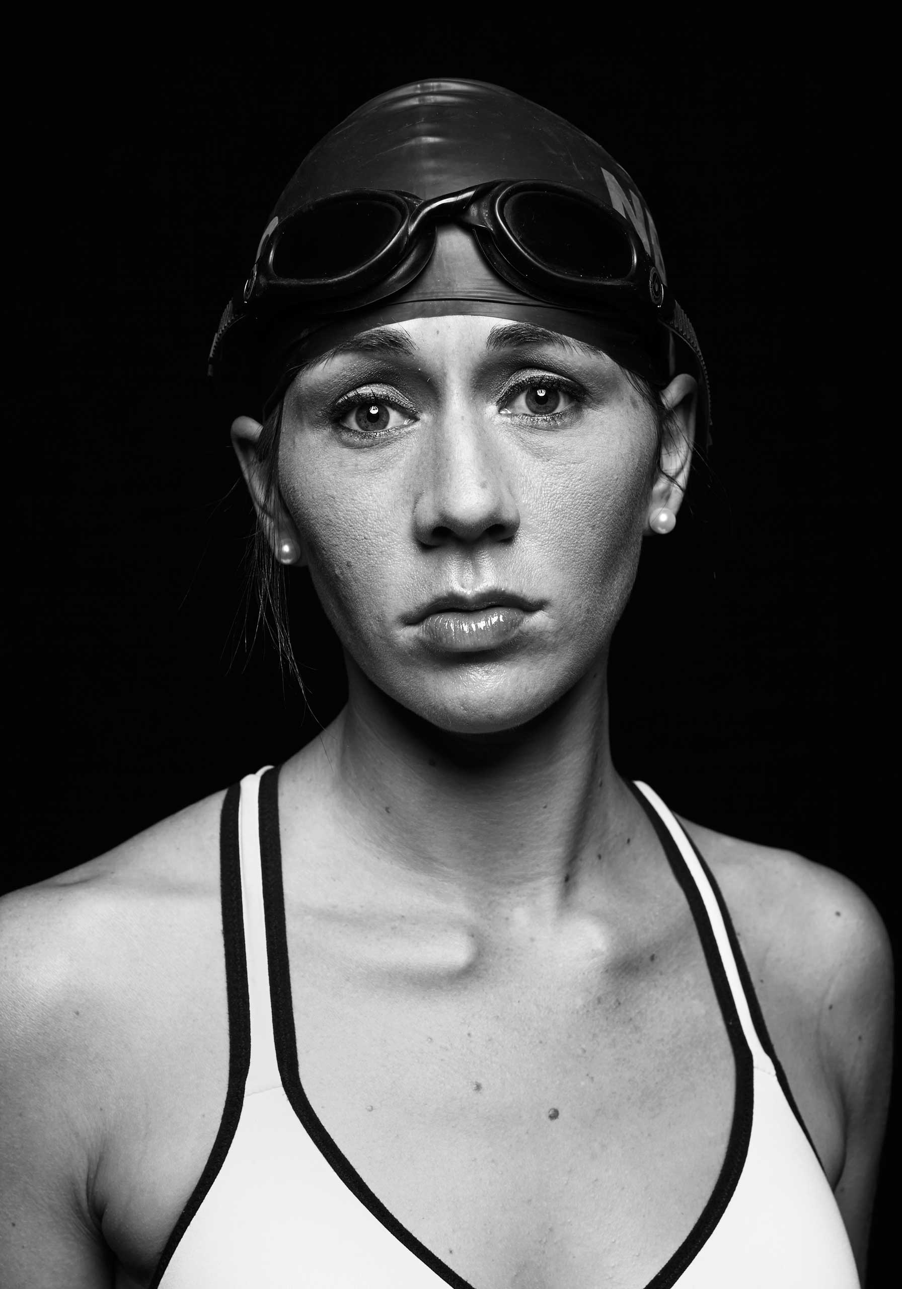 Kristen Esget, Retired Coast Guard Yeoman 3rd Class  Back home, people don't always understand me and the struggles I face because I look perfectly normal. When I am with fellow wounded warrior athletes, I do not feel judged, and I never have to explain myself.