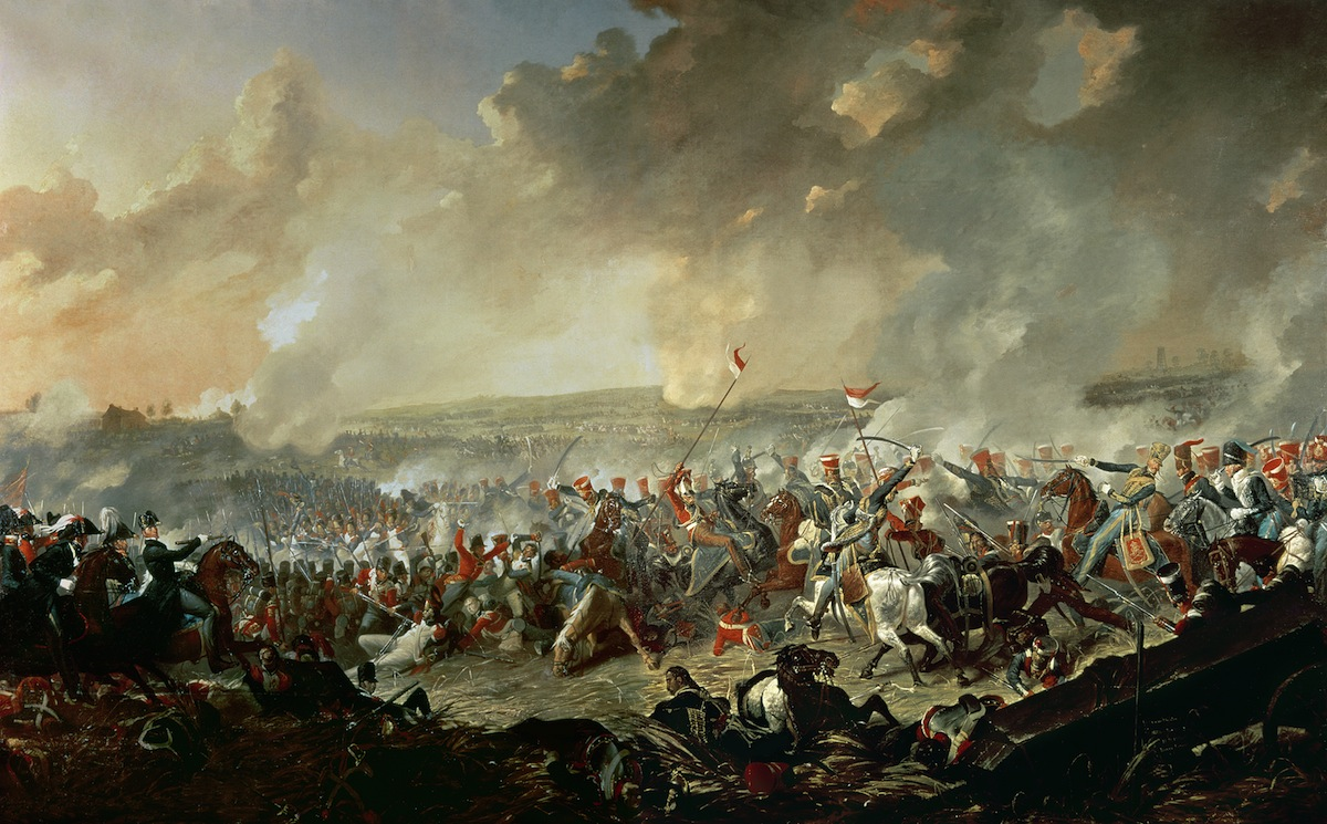The Battle of Waterloo, June 18, 1815 (oil on canvas)