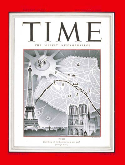 The Sept. 4, 1944, cover of TIME