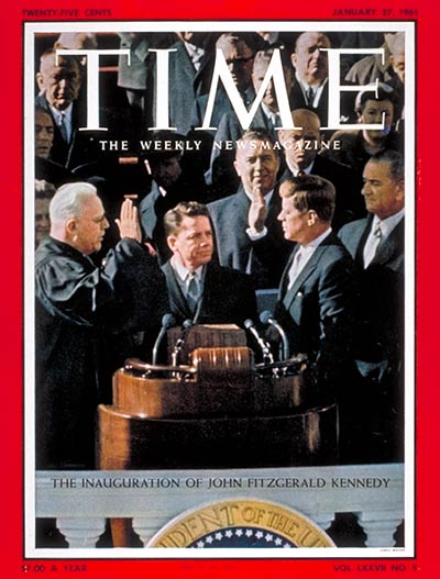 The Jan. 27, 1961, cover of TIME