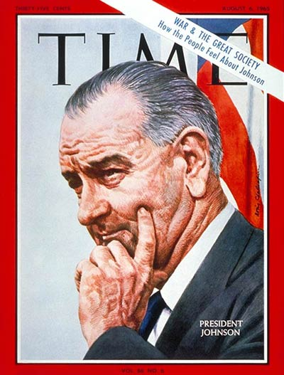 The Aug. 6, 1965, cover of TIME