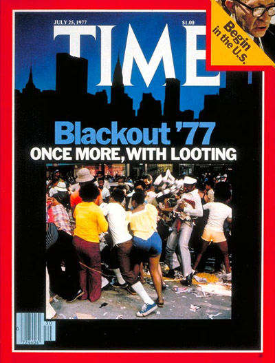 The July 25, 1977, cover of TIME