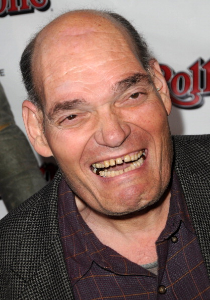 Irwin Keyes arrives for the wrap party for SYFY network's Monster Man Season 2, held at Rolling Stone Restaurant and Lounge in Los Angeles on April 16, 2012