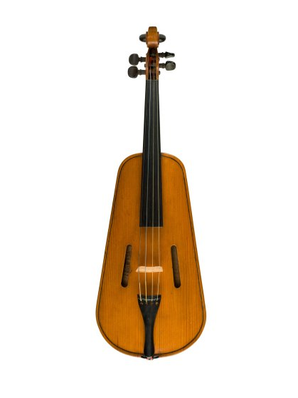 "Violin, 1852: William S. Mount, (Patent No. 8981). William S. Mount proposed creating violins with concave or hollow backs. This patent model represented a design innovation that would minimize the strain on the violin soundboard and avoid interference with the ""sonorous and vibrating qualities"" of the instrument."