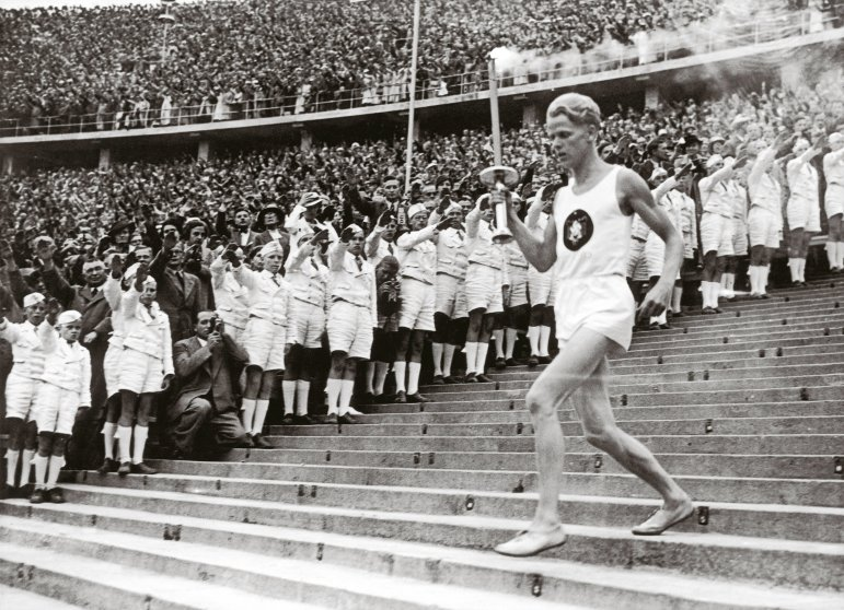 Beginning of the eleventh Olympic Games. August 1,1936.