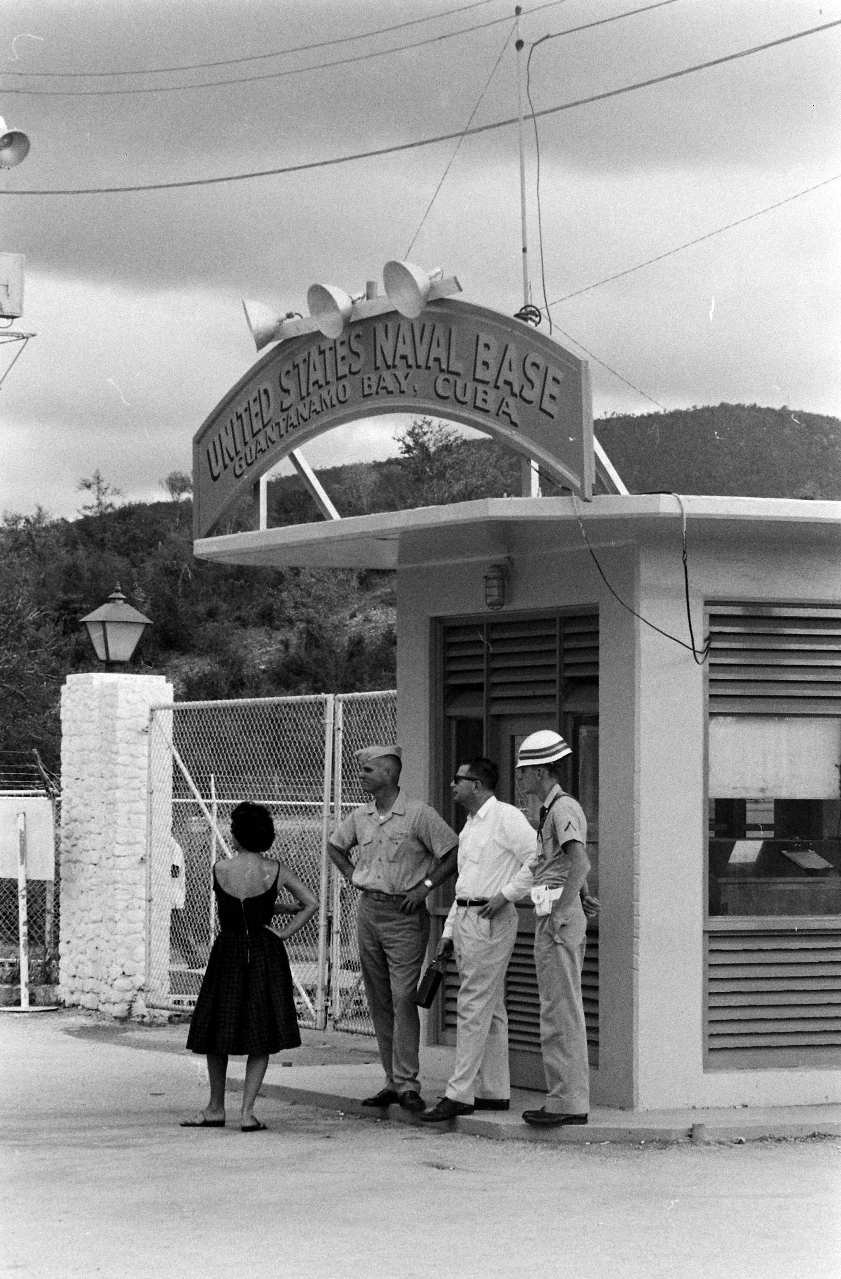 Guantanamo Bay, Cuba, 1962.