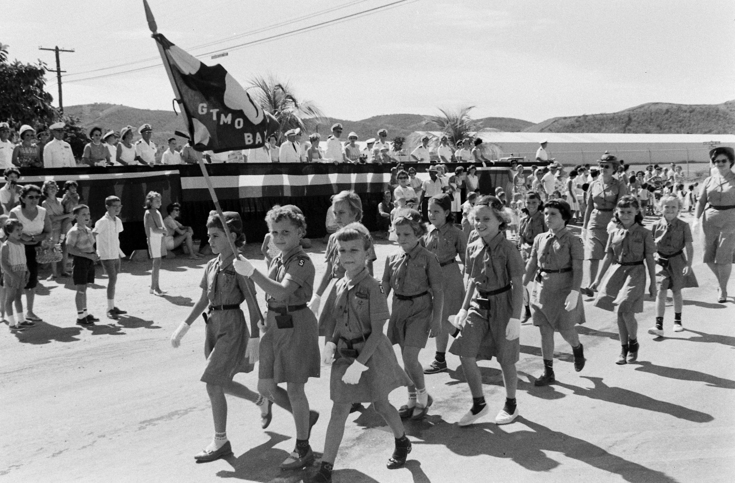 Children's parade, Guantanamo Bay, Cuba, 1962.