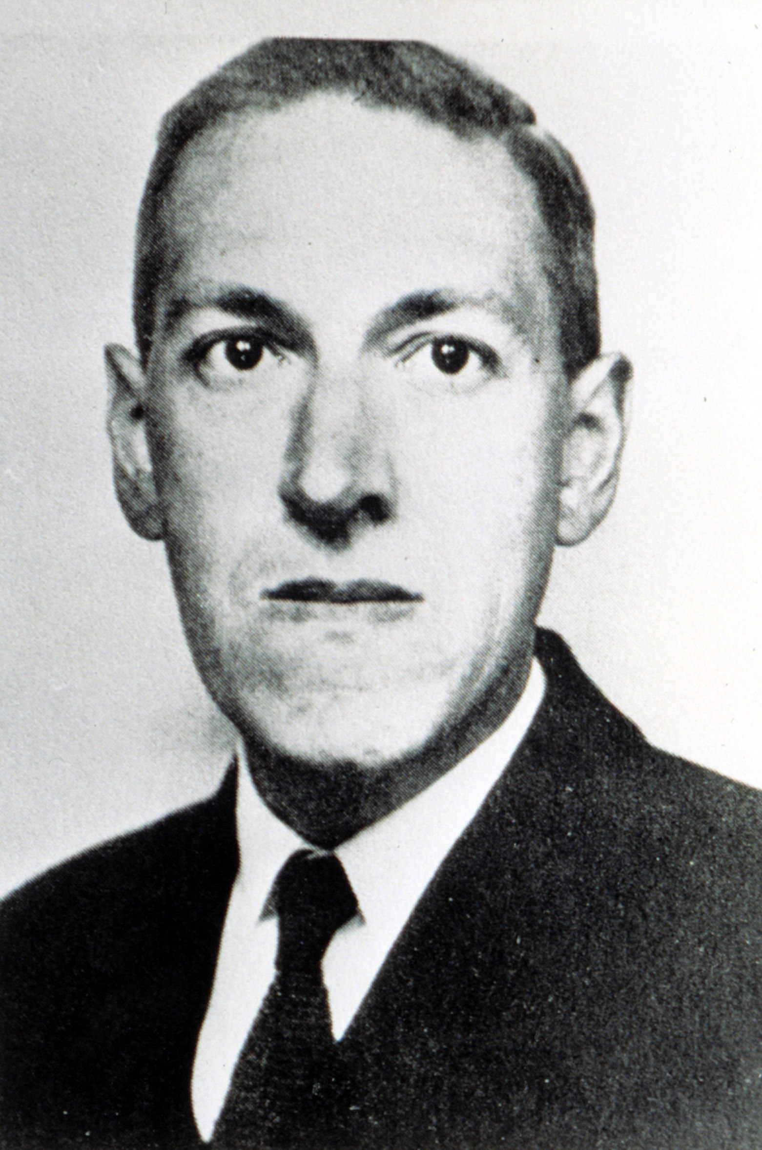 H.P. Lovecraft, (1890-1937), American writer, circa 1934.