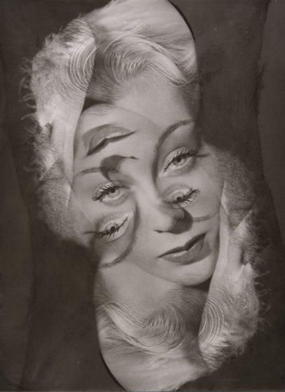 Expérimentation pour un portrait de femme 1931-1940