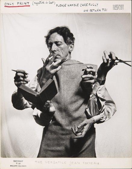 Jean Cocteau, l'artiste multidisciplinaire, 1949.