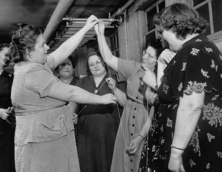 Fat Ladies Non-Anonymous Club 1951