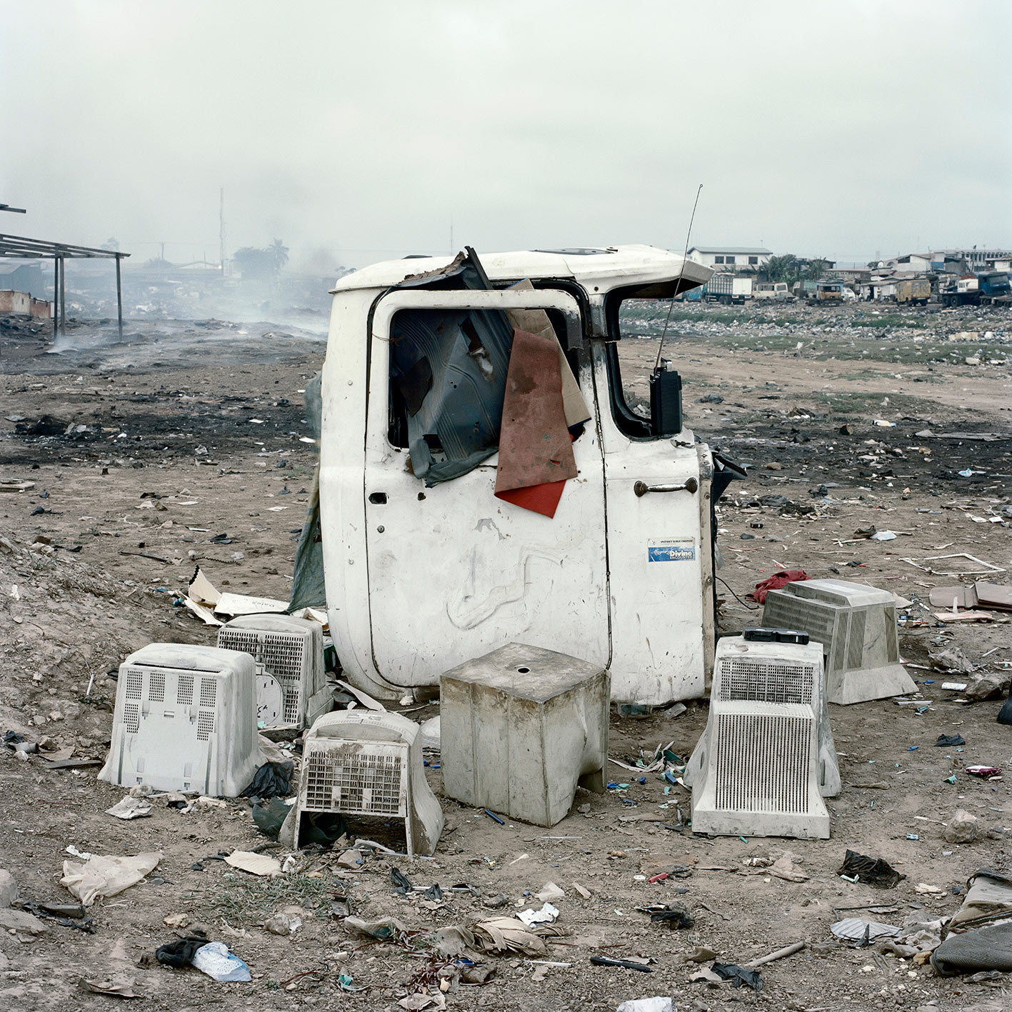 Untitled, Agbogbloshie Market. From the series  Permanent Error