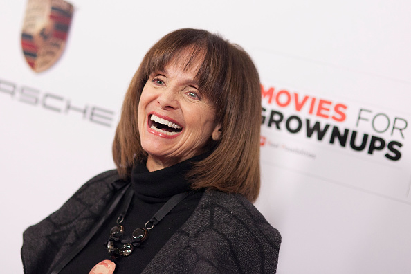 Valerie Harper arrives for AARP the Magazine's 14th Annual Movies For Grownups Awards Gala in Beverly Hills, Calif., on Feb. 2, 2015