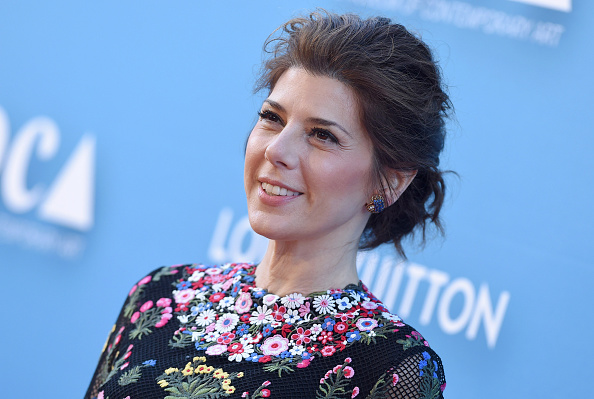 Marisa Tomei attends the MOCA Gala at the Geffen Contemporary at MOCA in Los Angeles on May 30, 2015