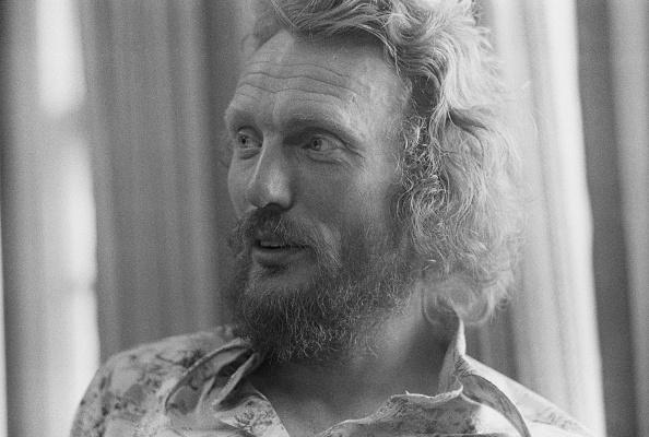 English drummer Ginger Baker, August 1975
