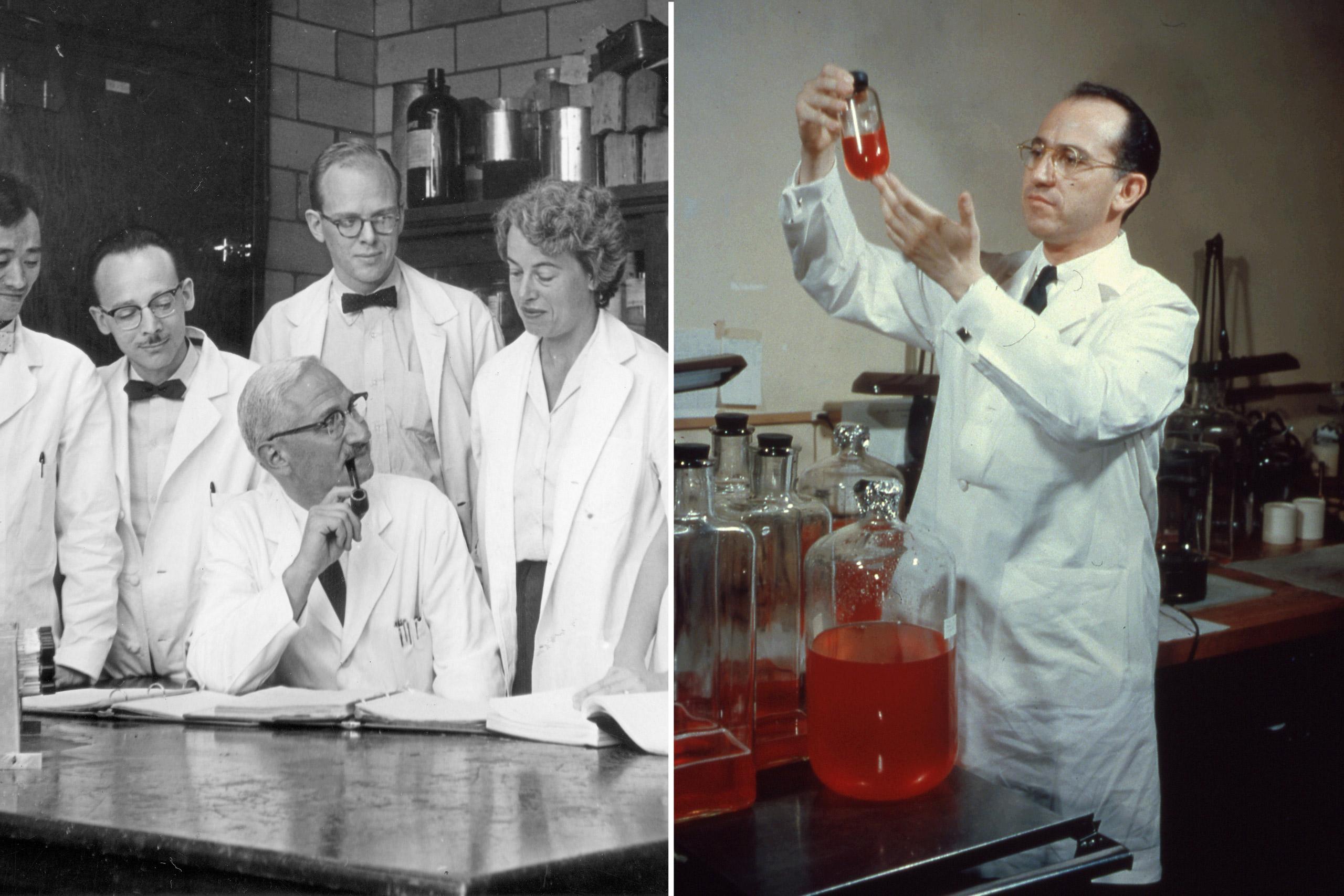 Albert Sabin Jonas Salk Vaccines