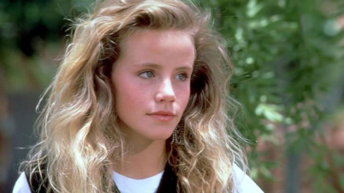 Amanda Peterson, pictured here at 16, in her  breakout role in 'Can't Buy Me Love.'