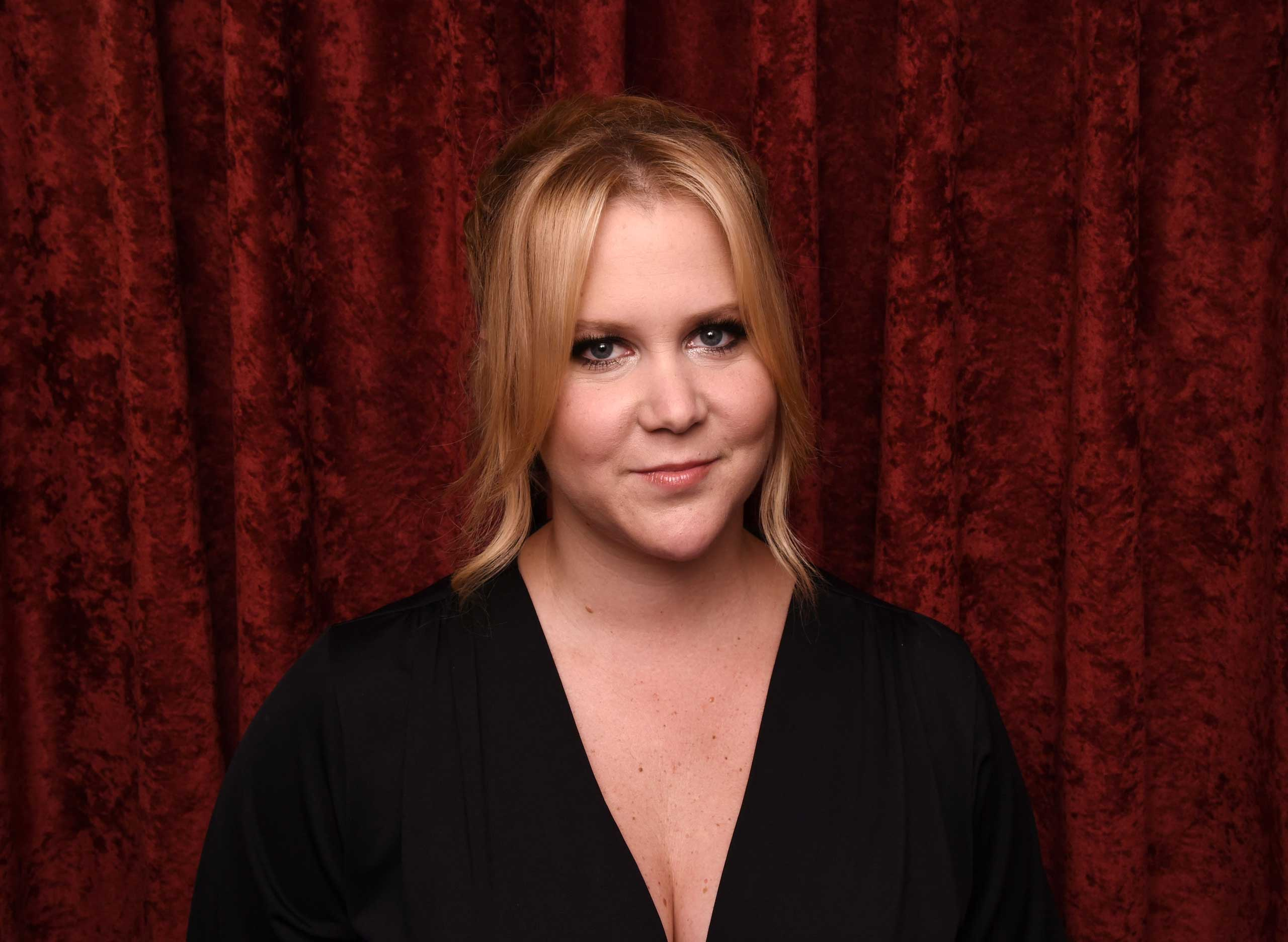 Comedian Amy Schumer visits the SiriusXM Studios on June 30, 2015 in New York City.