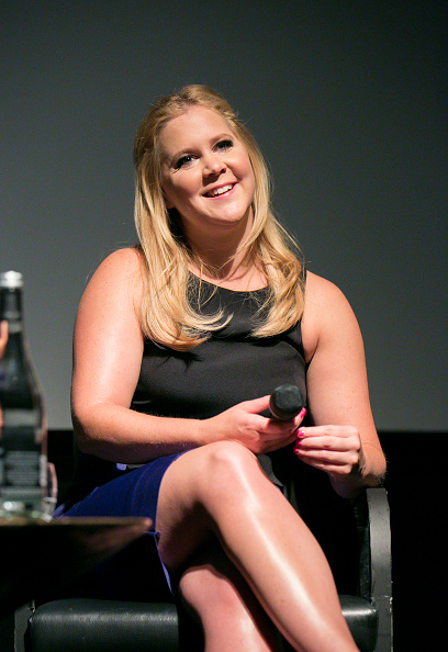 Amy Schumer at the screening of  Trainwreck  at in London on June 3, 2015.