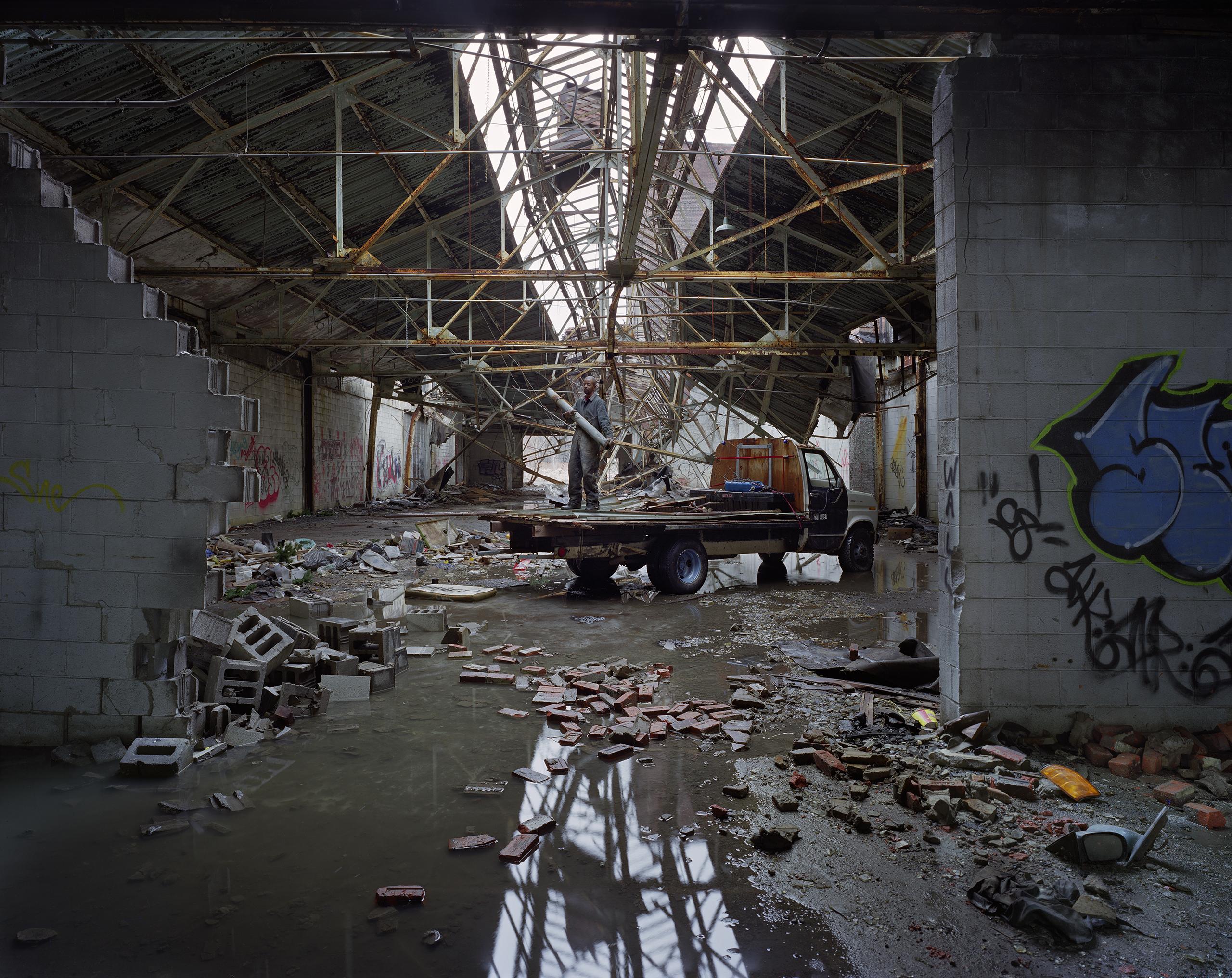 Scrapper,                               Packard Motor Car Company plant,                               Detroit, 2009