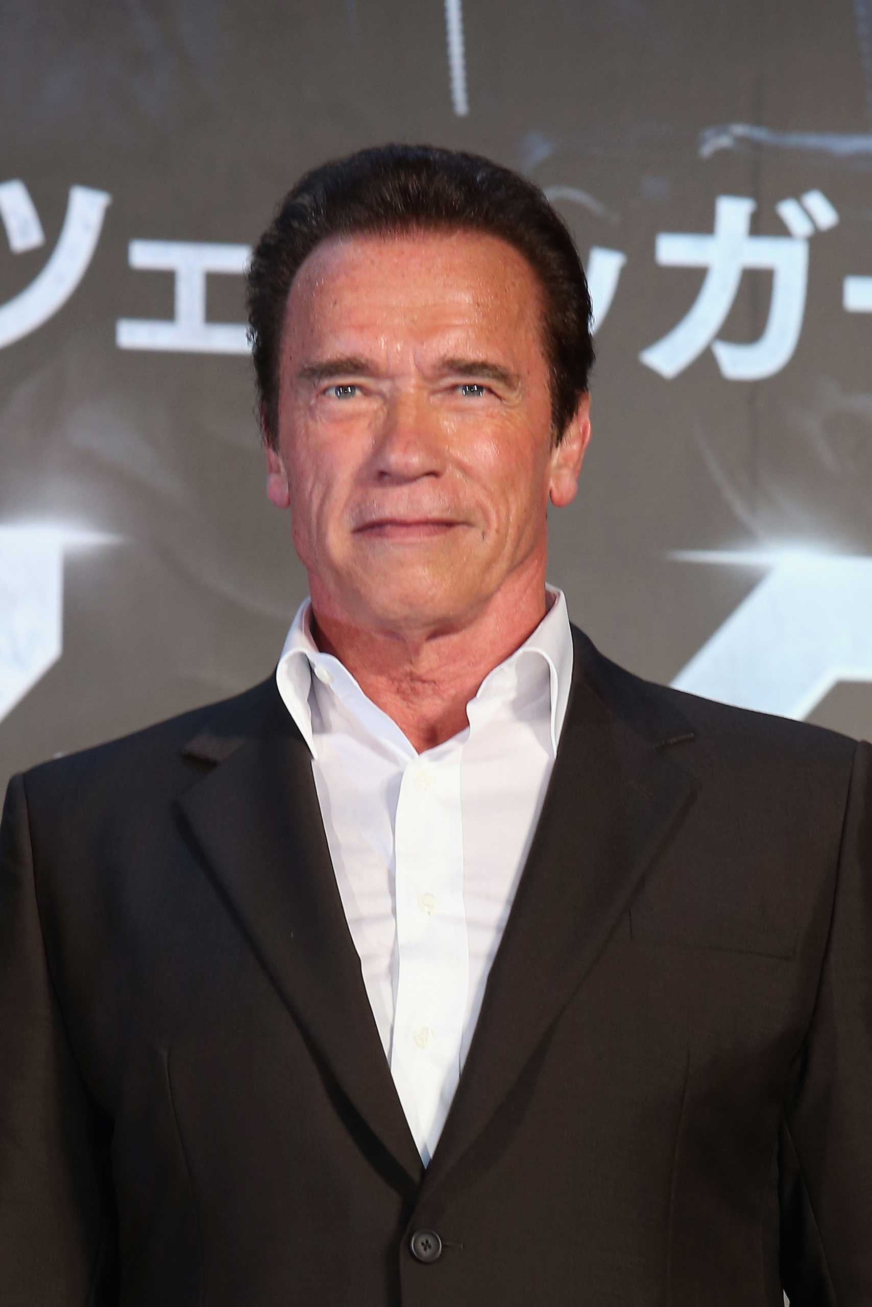Arnold Schwarzenegger attends the Tokyo Premiere of 'Terminator Genisys' at the Roppongi Hills Arena in Tokyo, on July 6, 2015