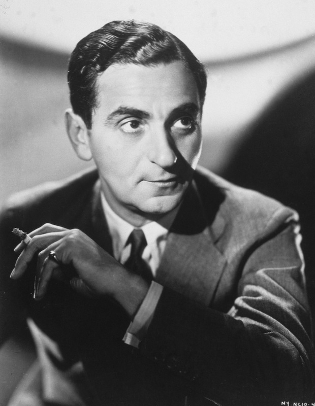 circa 1920:  Portrait of American composer Irving Berlin (1888-1989)