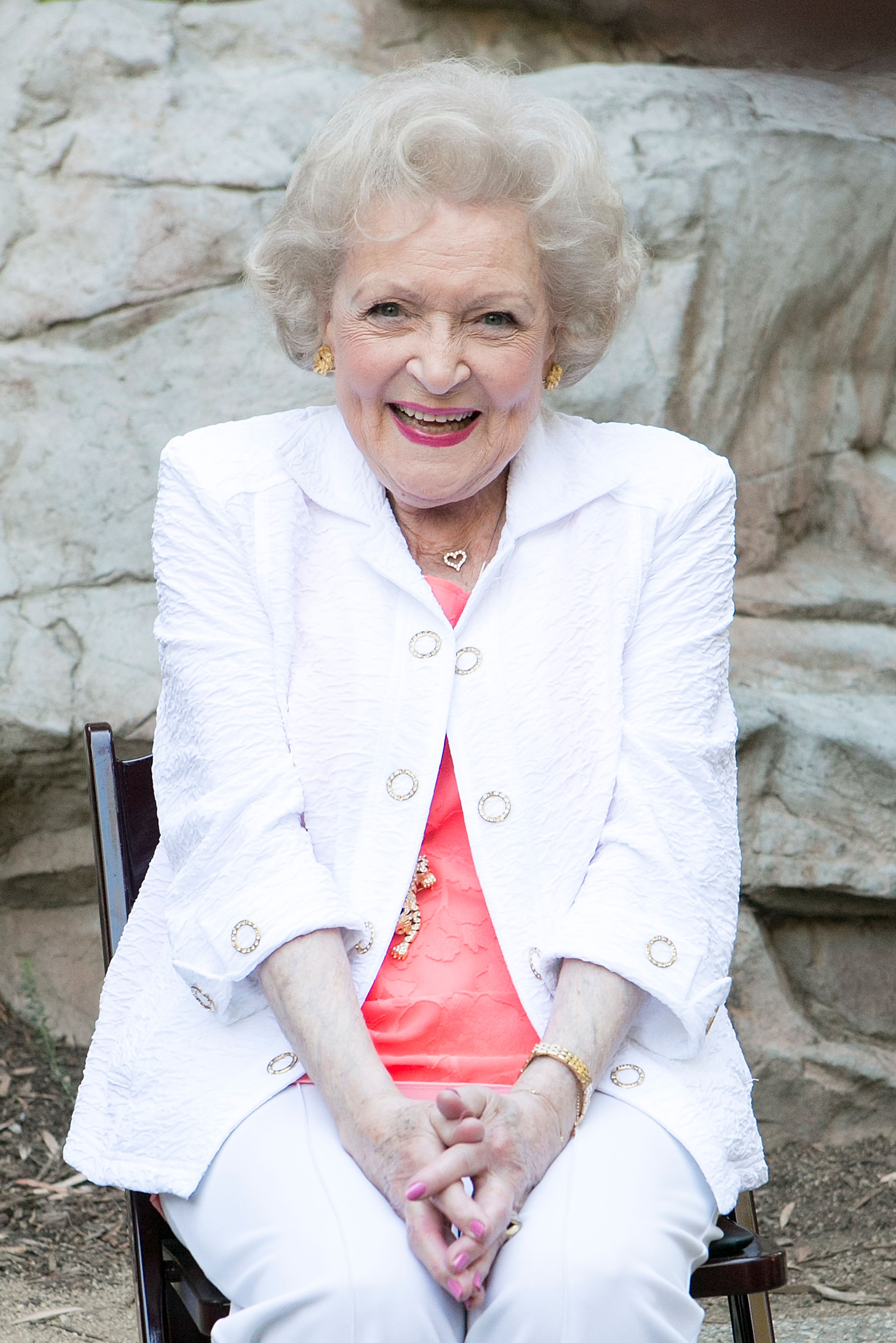 Betty White on June 20, 2015 in Los Angeles, California.