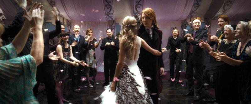 Bill Fleur Wedding Harry Potter