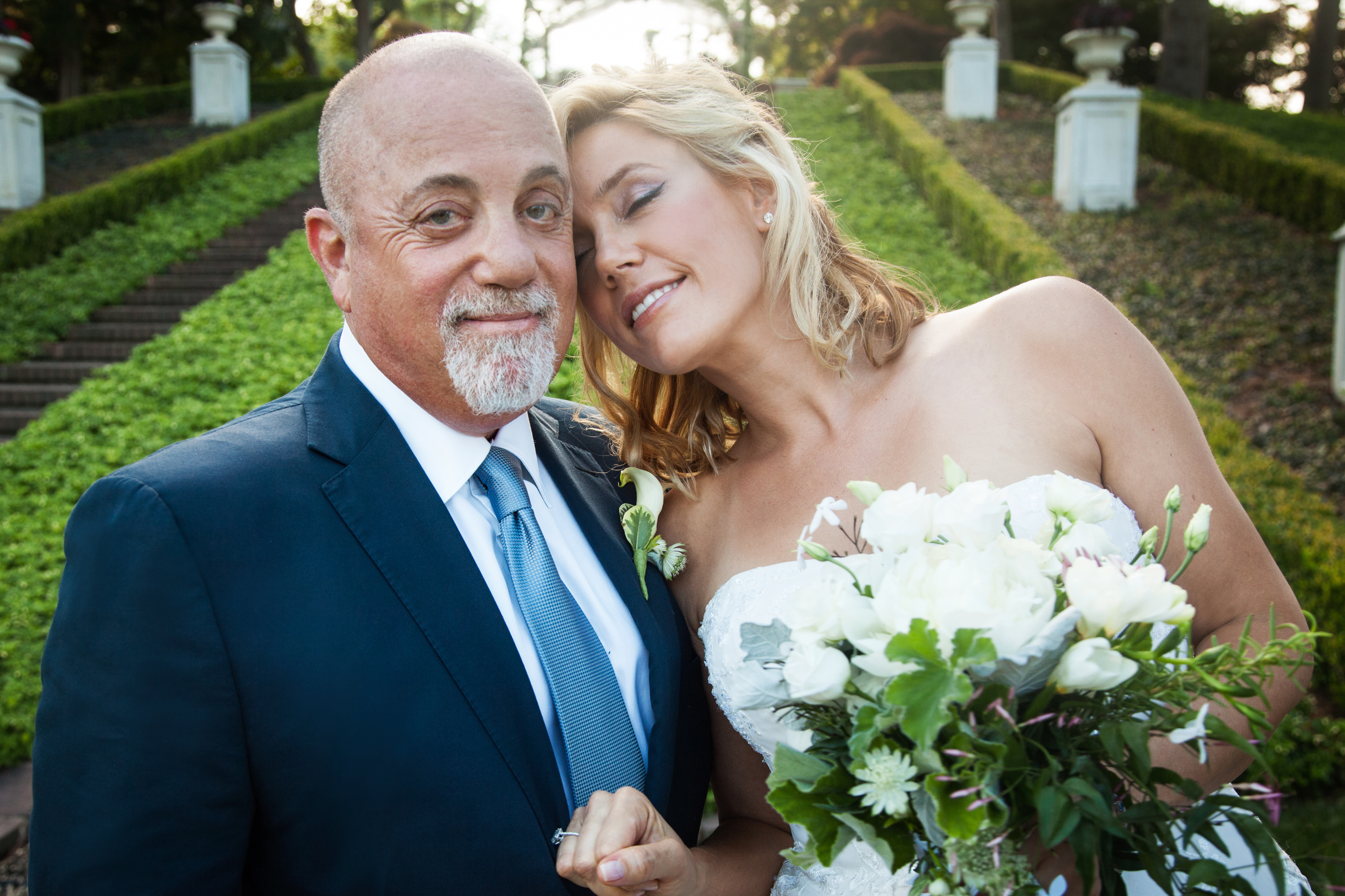 Billy Joel and Alexis Roderick tied the knot at a surprise wedding on July 4, 2015 at their estate in Long Island, N.Y.