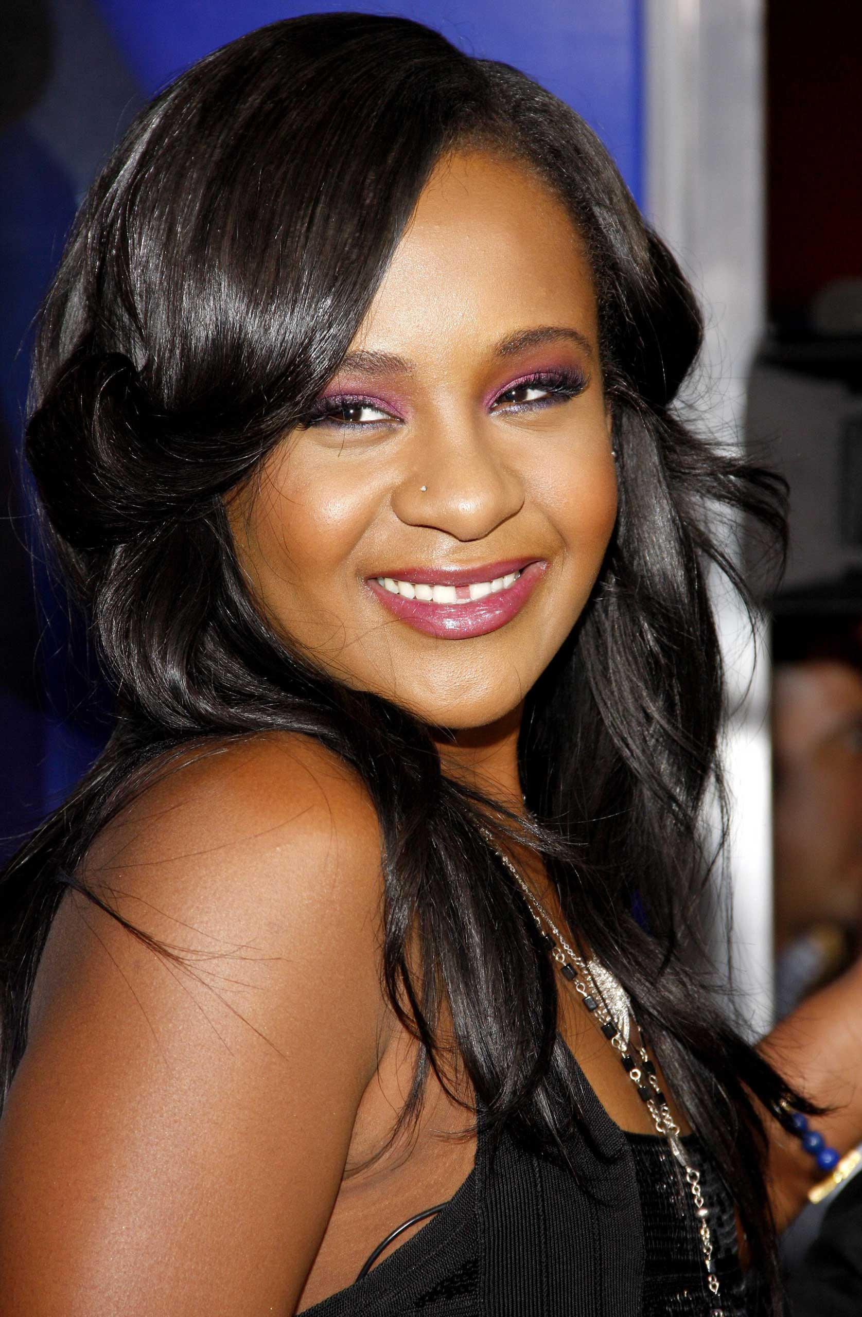 Bobbi Kristina Brown at the Los Angeles premiere of 'Sparkle' held at the Grauman's Chinese Theater in Hollywood, Calif. on Aug. 16, 2012.