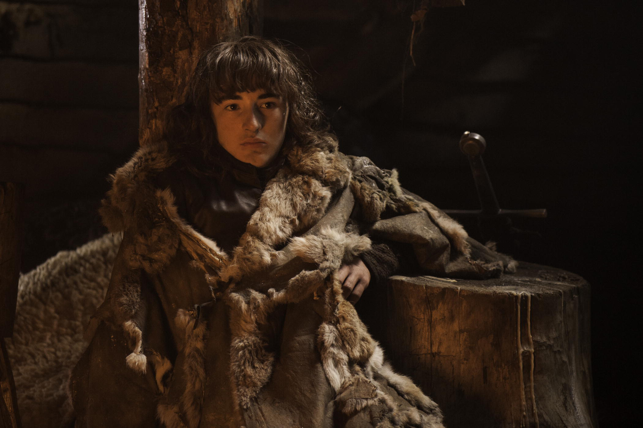 Isaac Hempstead Wright as Bran Stark on HBO's 'Game of Thrones'