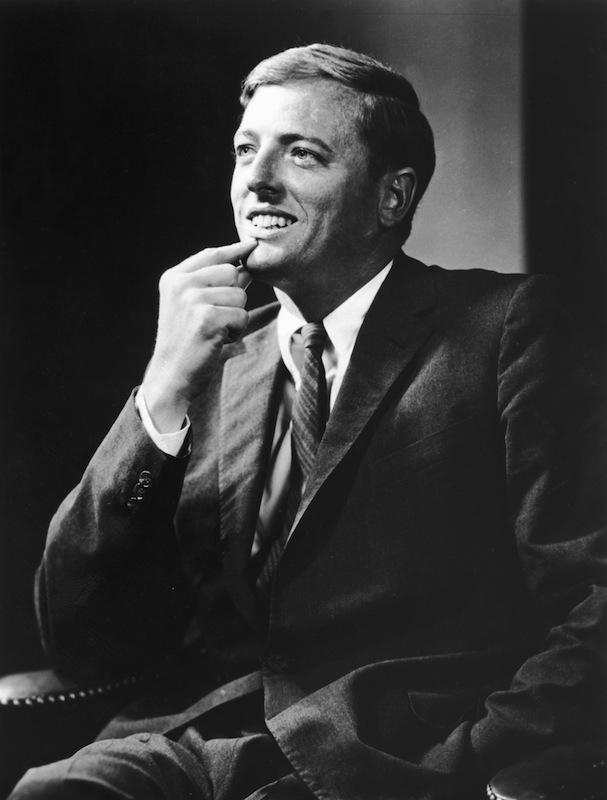 1962 studio portrait William F Buckley Jr.