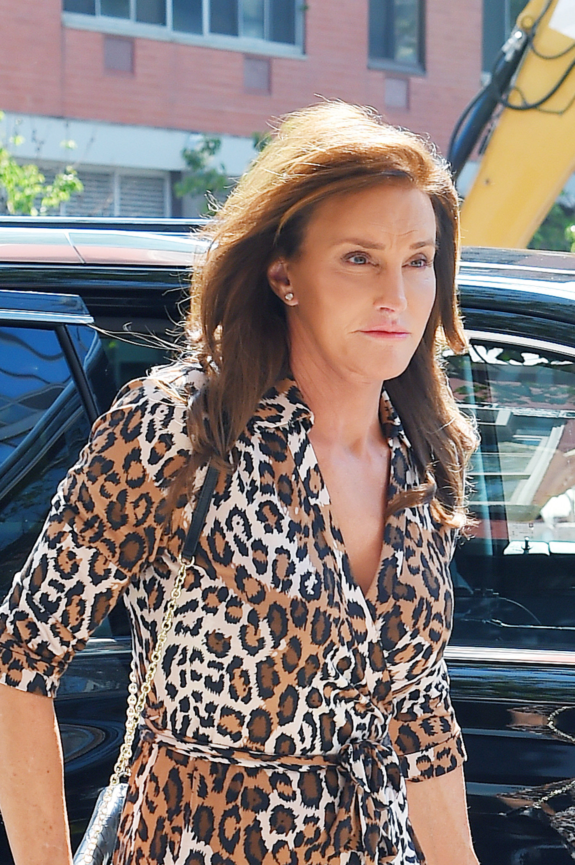 Caitlyn Jenner seen entering Patricia Field store in Soho on June 30, 2015 in New York City.