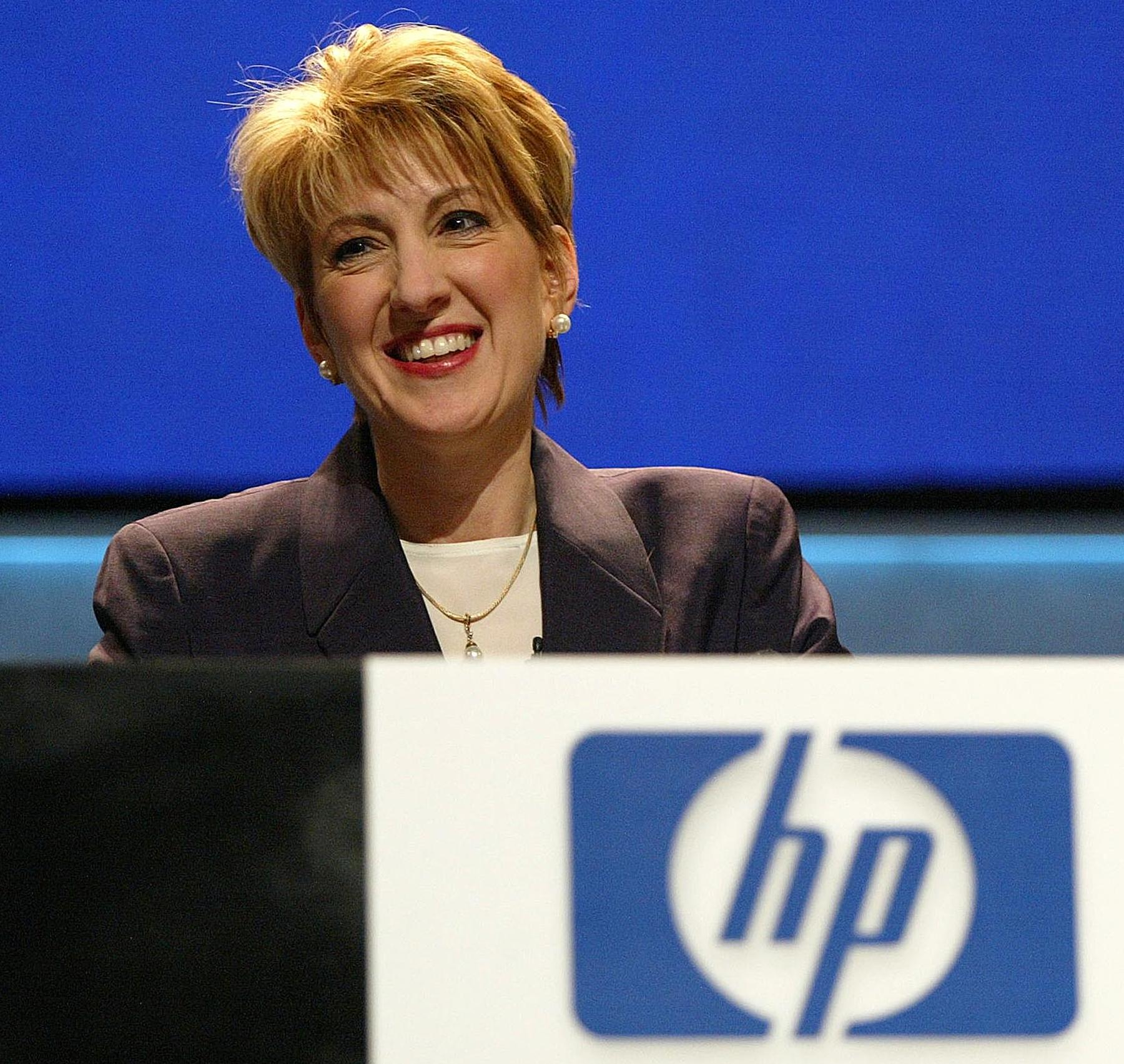Carly Fiorina HP CEO