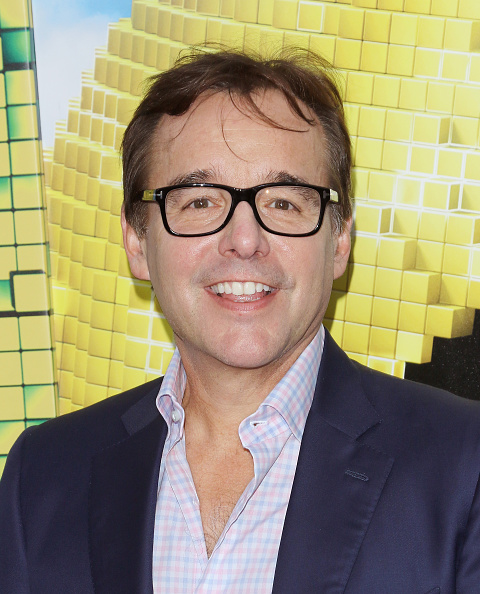 Director Chris Columbus at the  Pixels  New York premiere in New York City on July 18, 2015.
