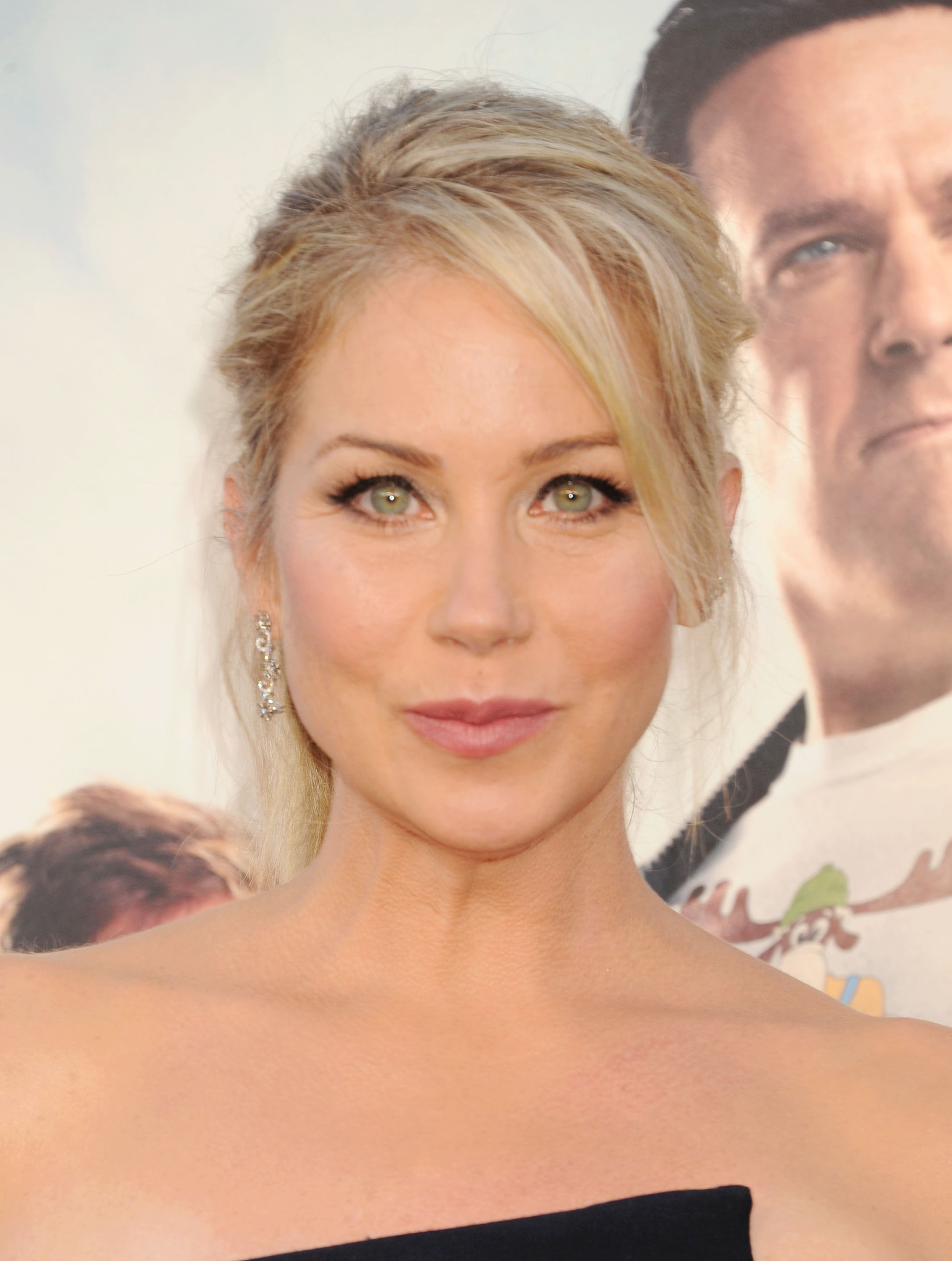 Actress Christina Applegate arrives at the Premiere Of Warner Bros. 'Vacation' at Regency Village Theatre on July 27, 2015 in Westwood, California.